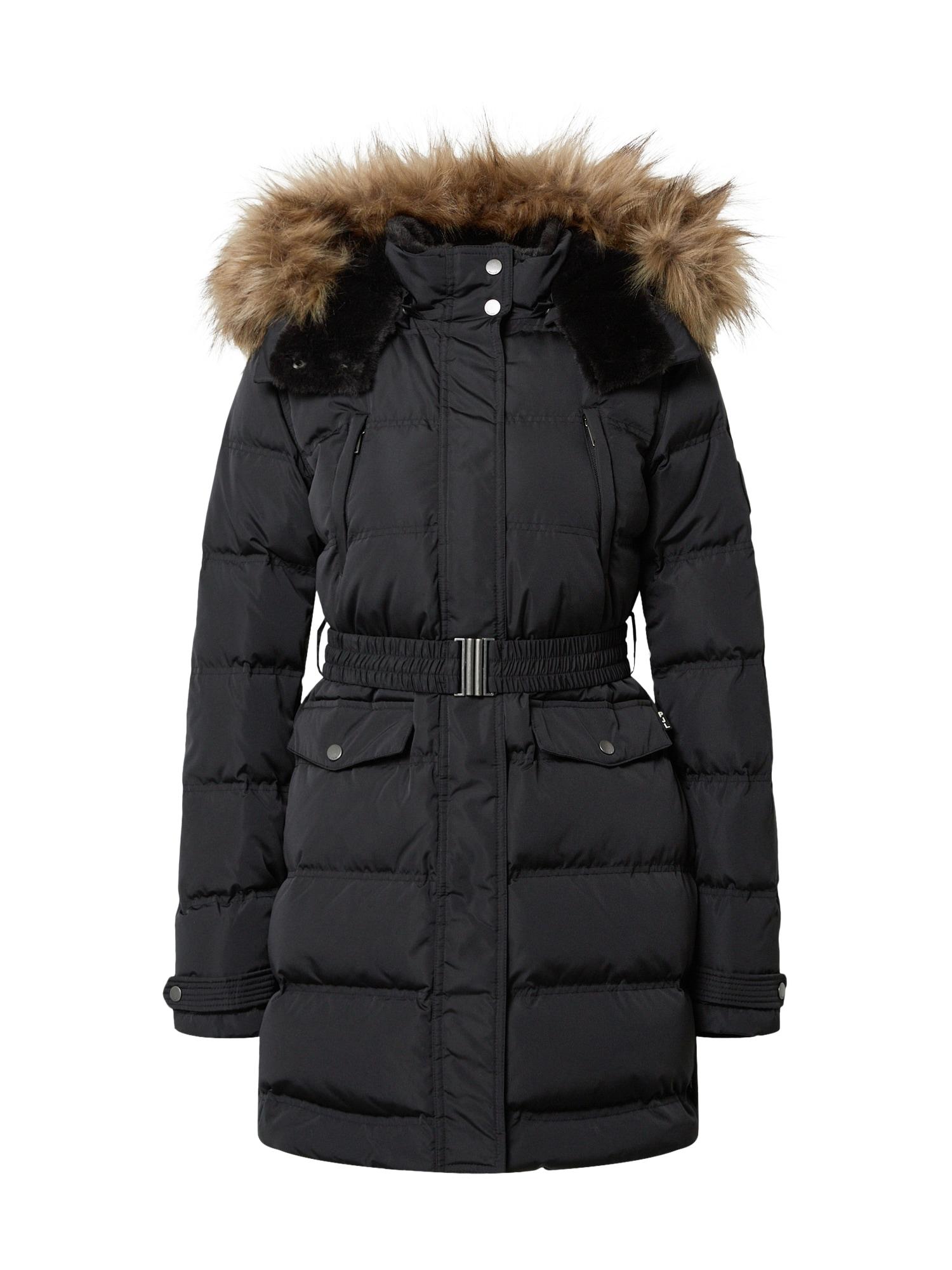 Pepe Jeans Zimní bunda  černá