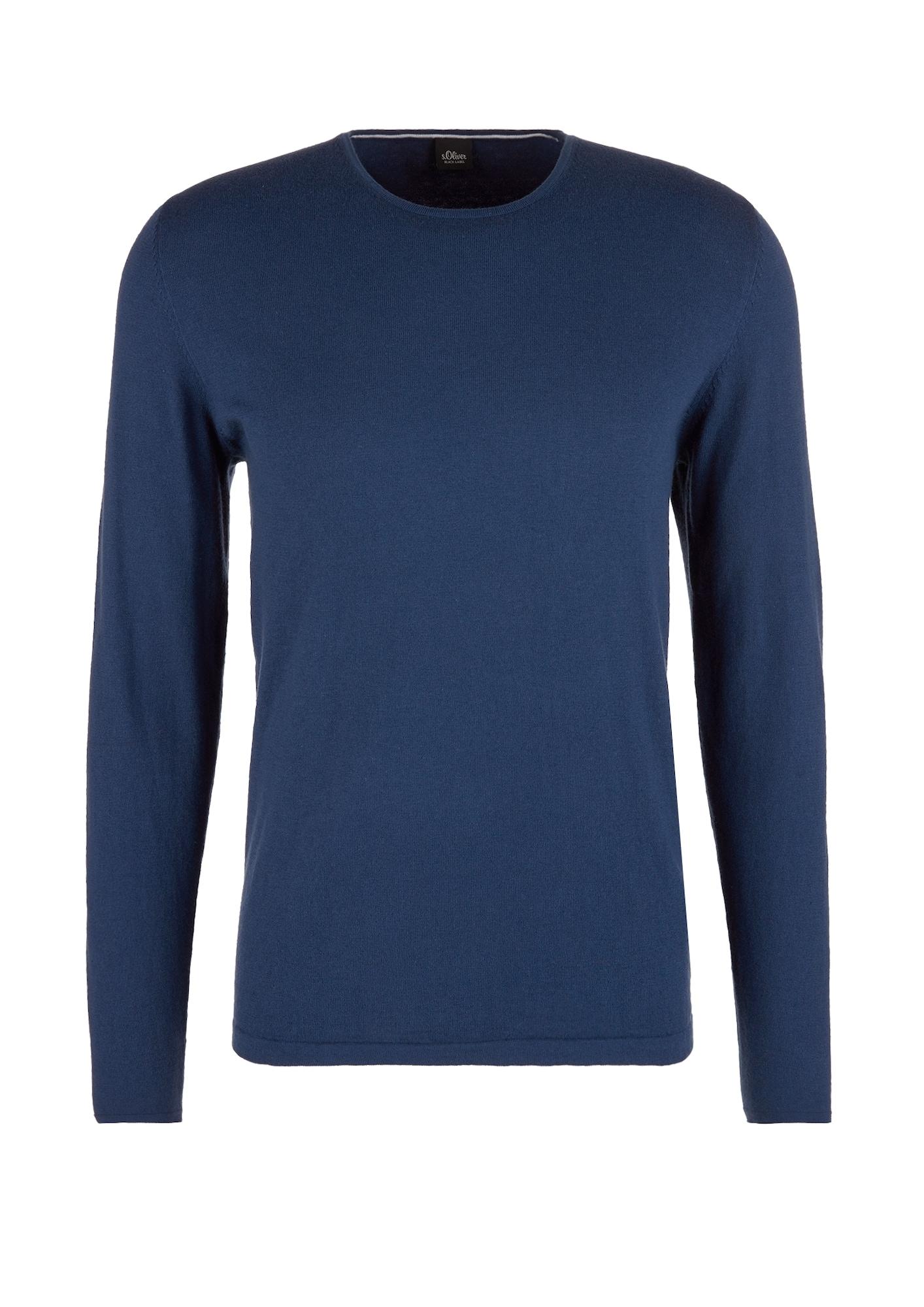 s.Oliver BLACK LABEL Megztinis mėlyna