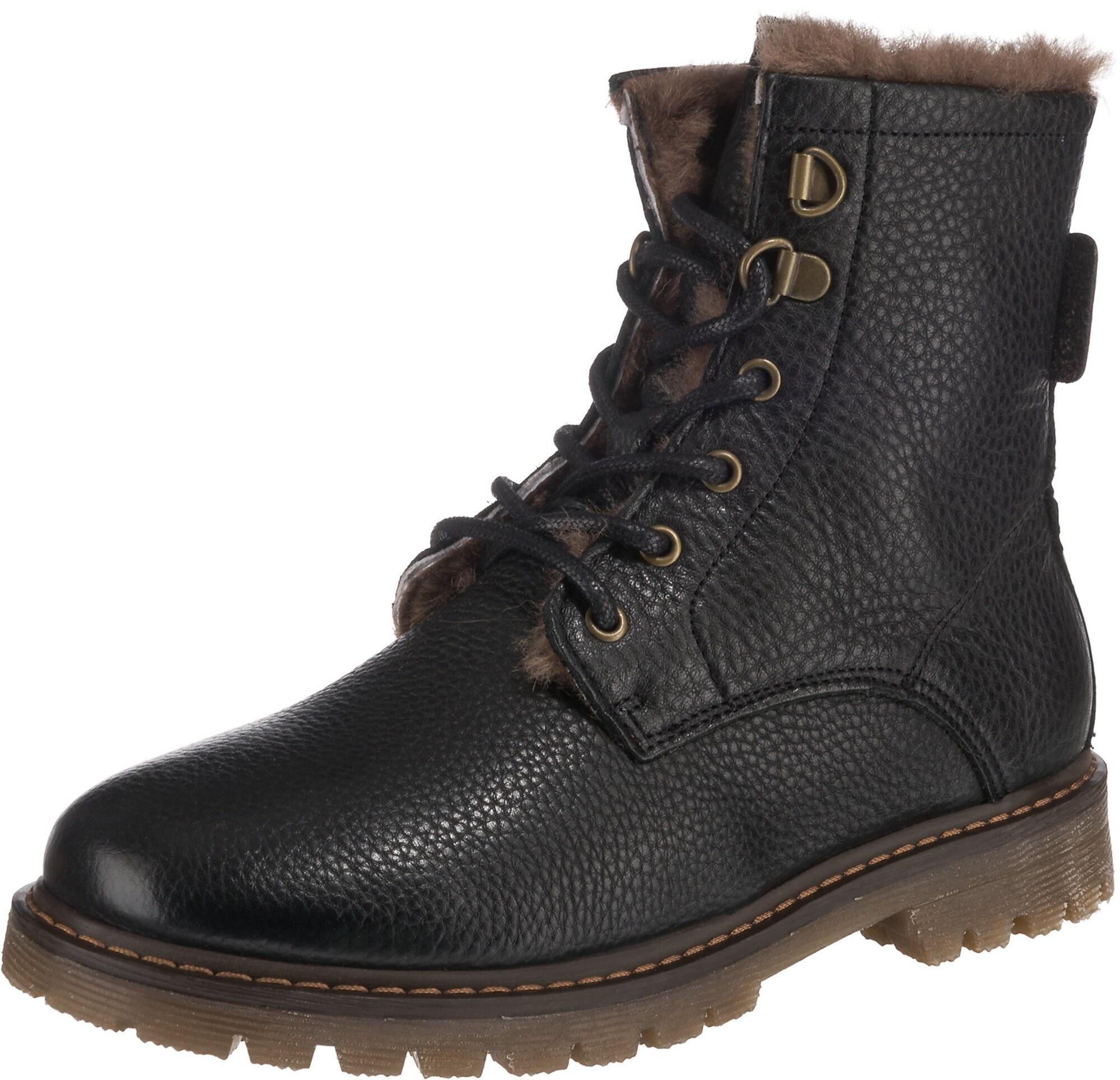 BISGAARD Sniego batai juoda