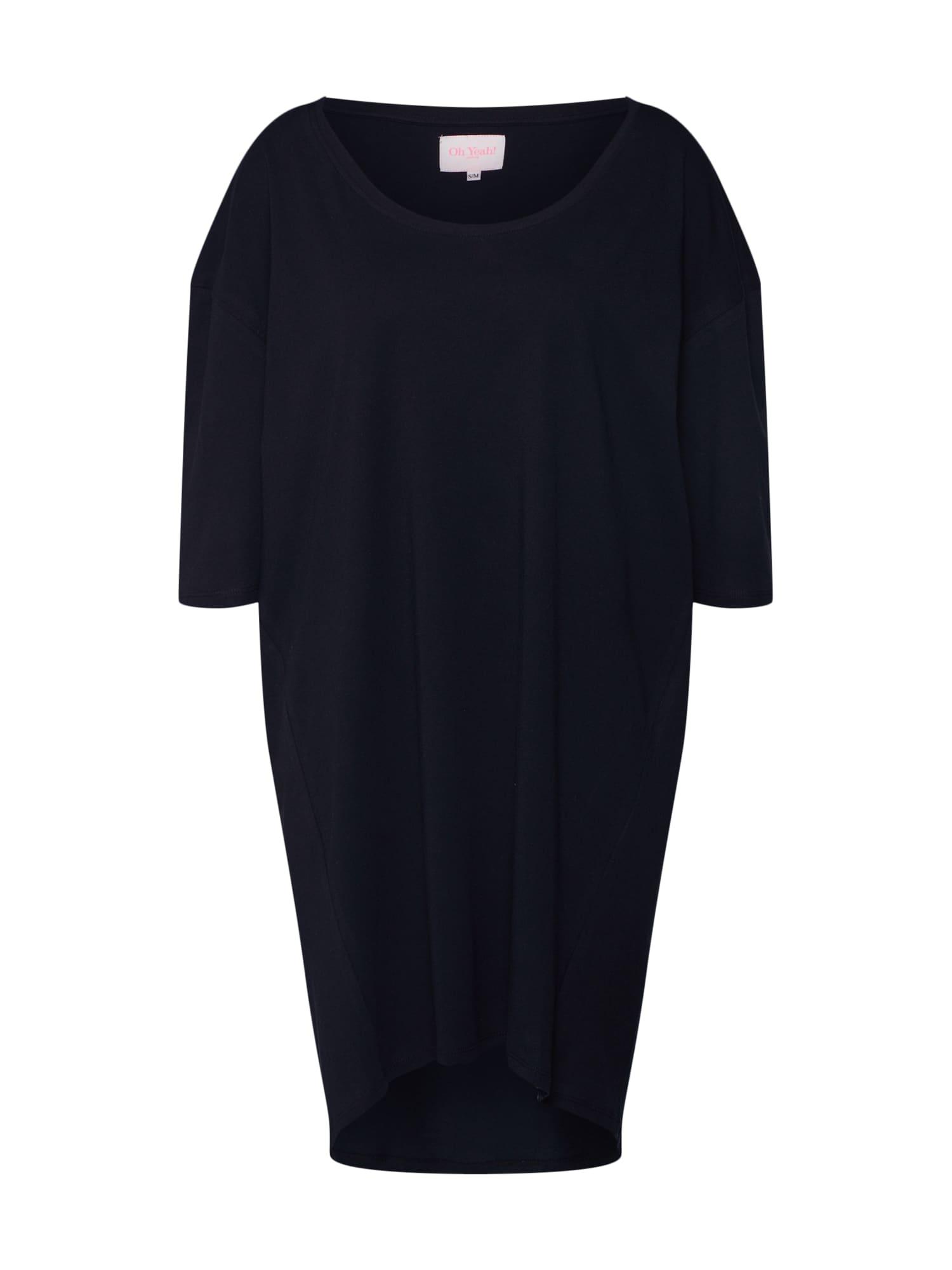 Maxi šaty coachella černá Oh Yeah!