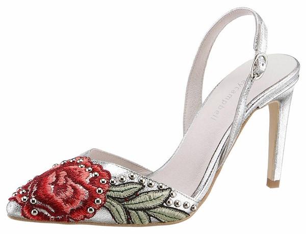 Highheels für Frauen - SAINT TROPEZ Jeffrey Campbell High Heel Pumps oliv rot silber  - Onlineshop ABOUT YOU