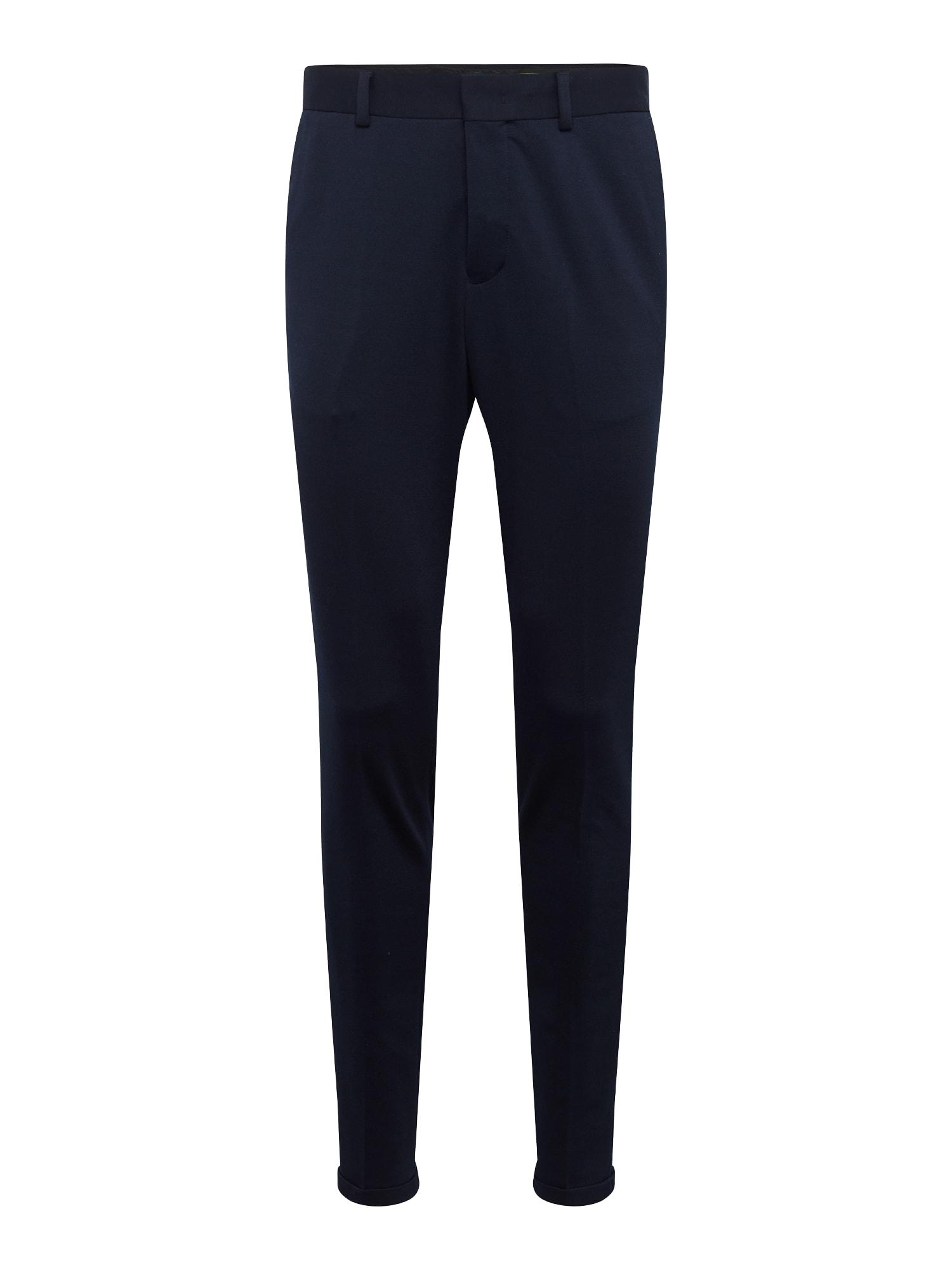 Kalhoty s puky NOOS B noční modrá SELECTED HOMME