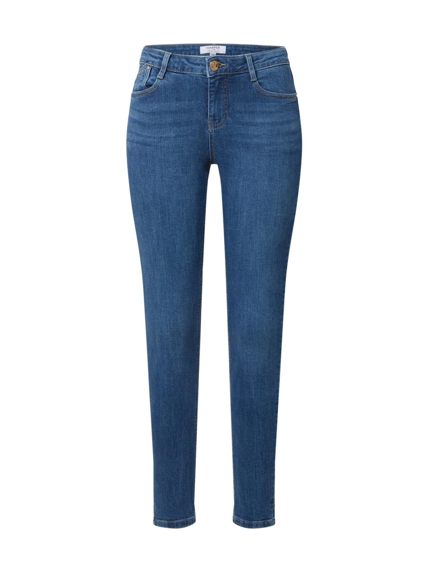 Dorothy Perkins Džinsai 'Midwash Harper Jean' tamsiai (džinso) mėlyna