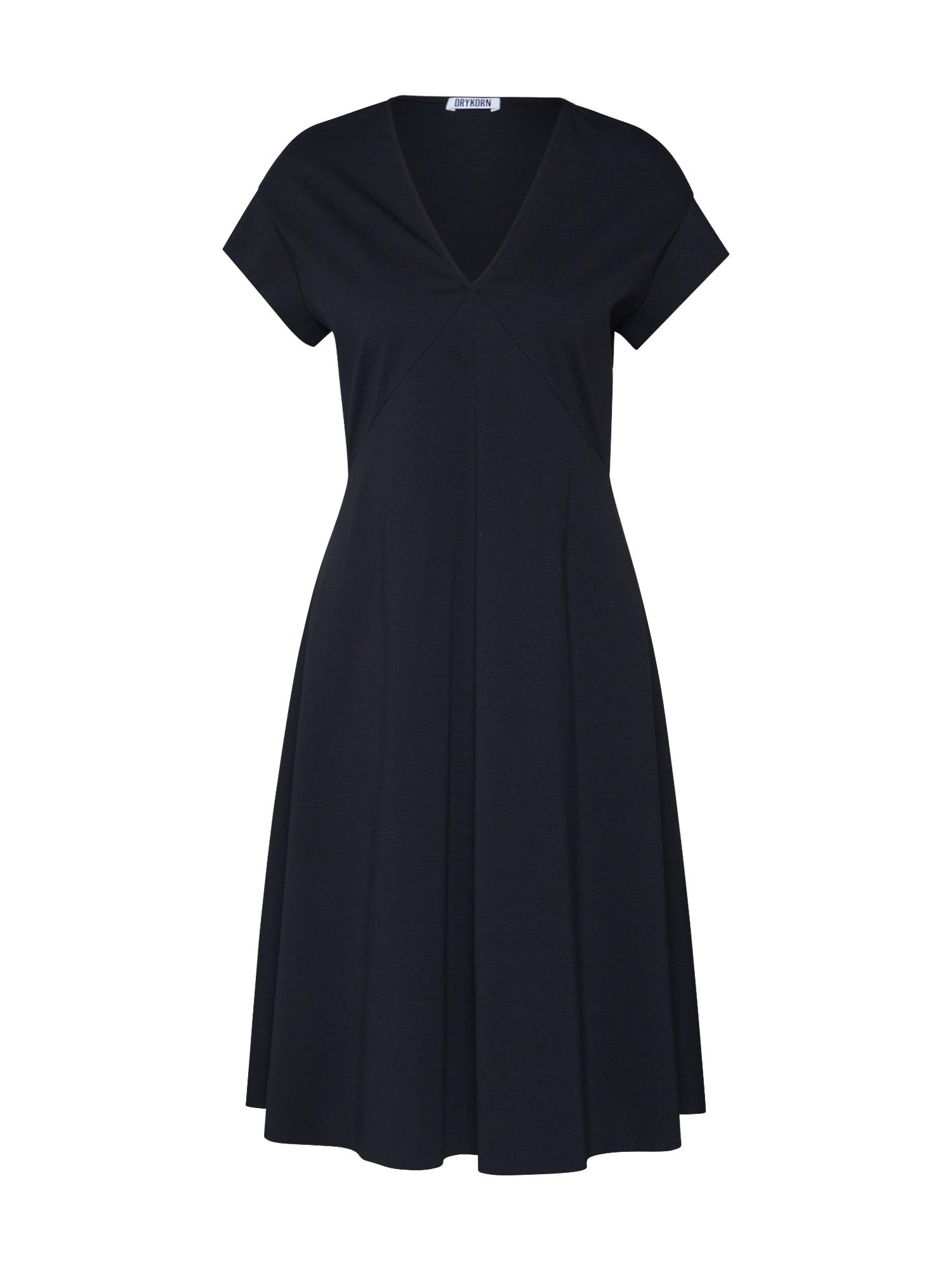 DRYKORN Vakarinė suknelė 'BASIMA' juoda
