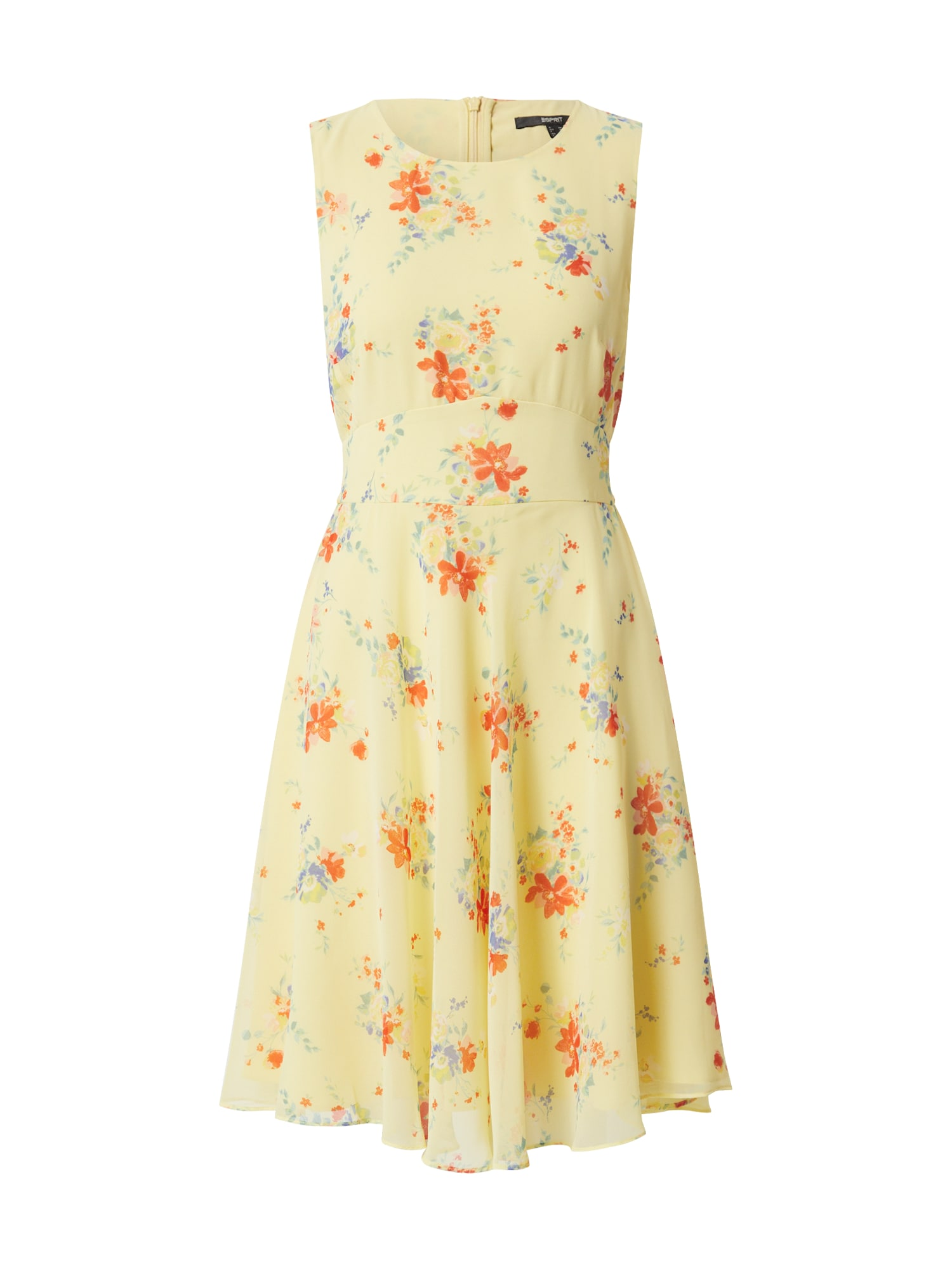 Esprit Collection Letné šaty  citrónová / zmiešané farby