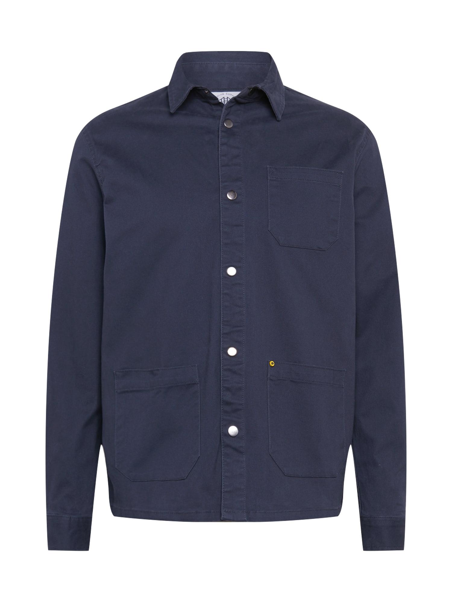 Brooklyn Supply Co. Marškiniai tamsiai mėlyna