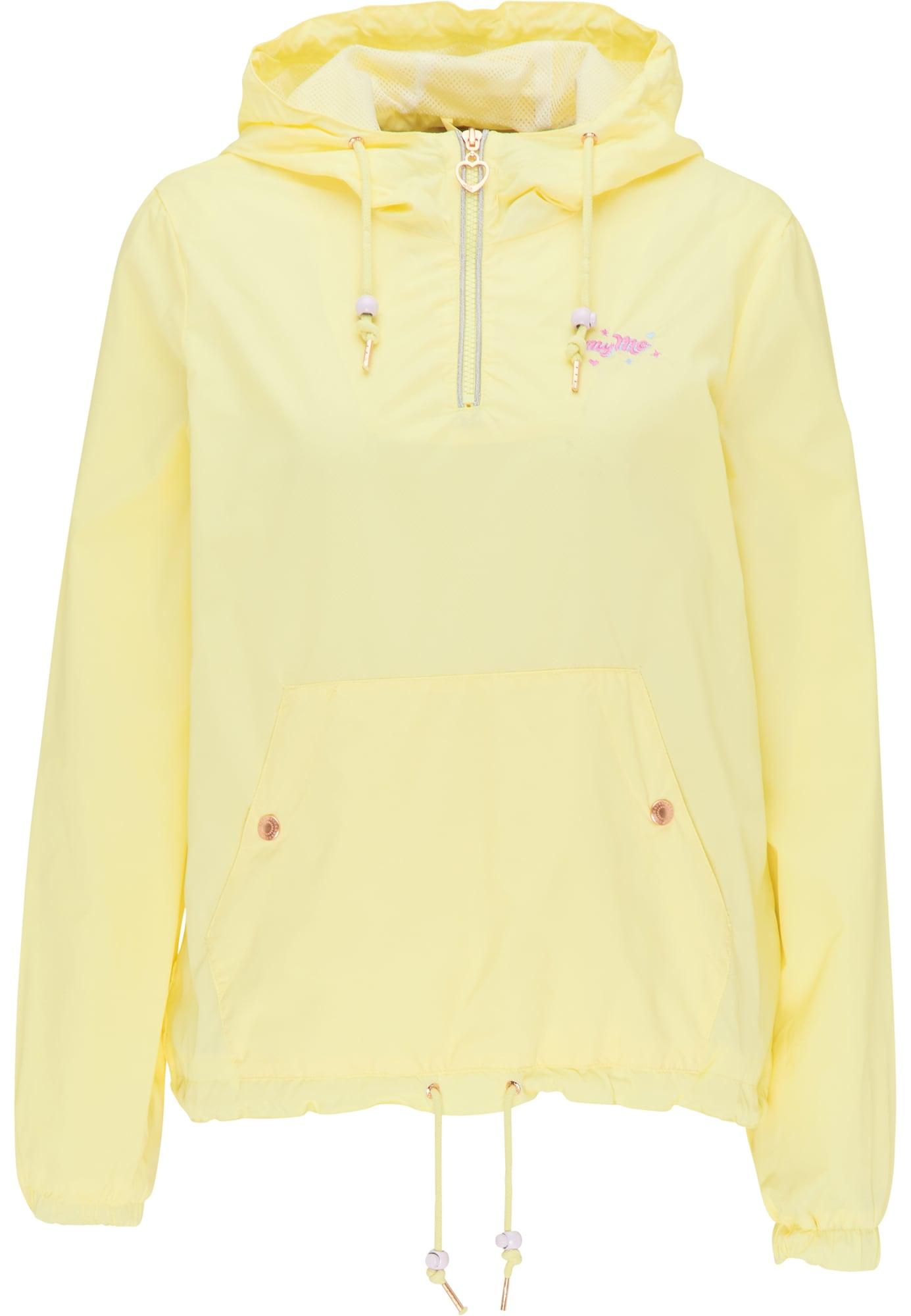 MYMO Demisezoninė striukė geltona