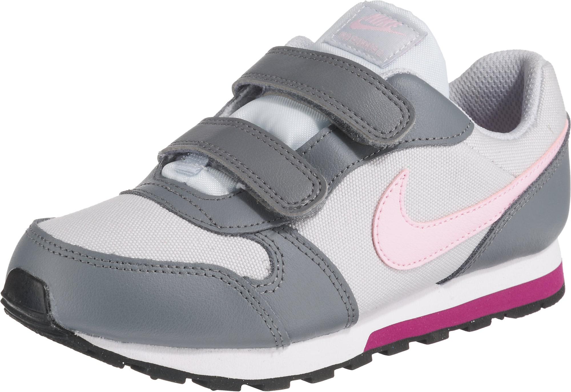 Nike Sportswear Tenisky  šedá / světle šedá / světle růžová