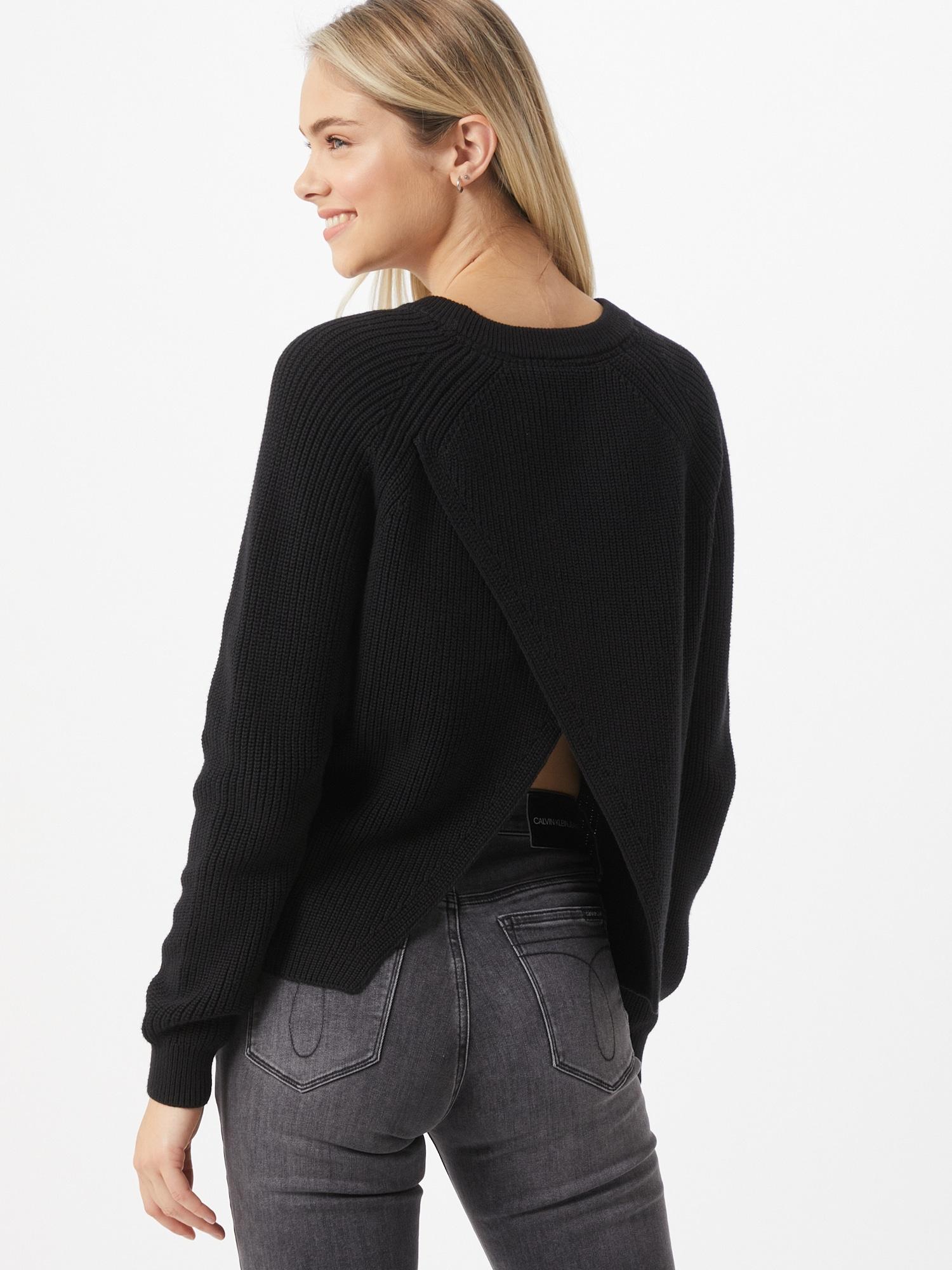 Calvin Klein Jeans Tröja  svart