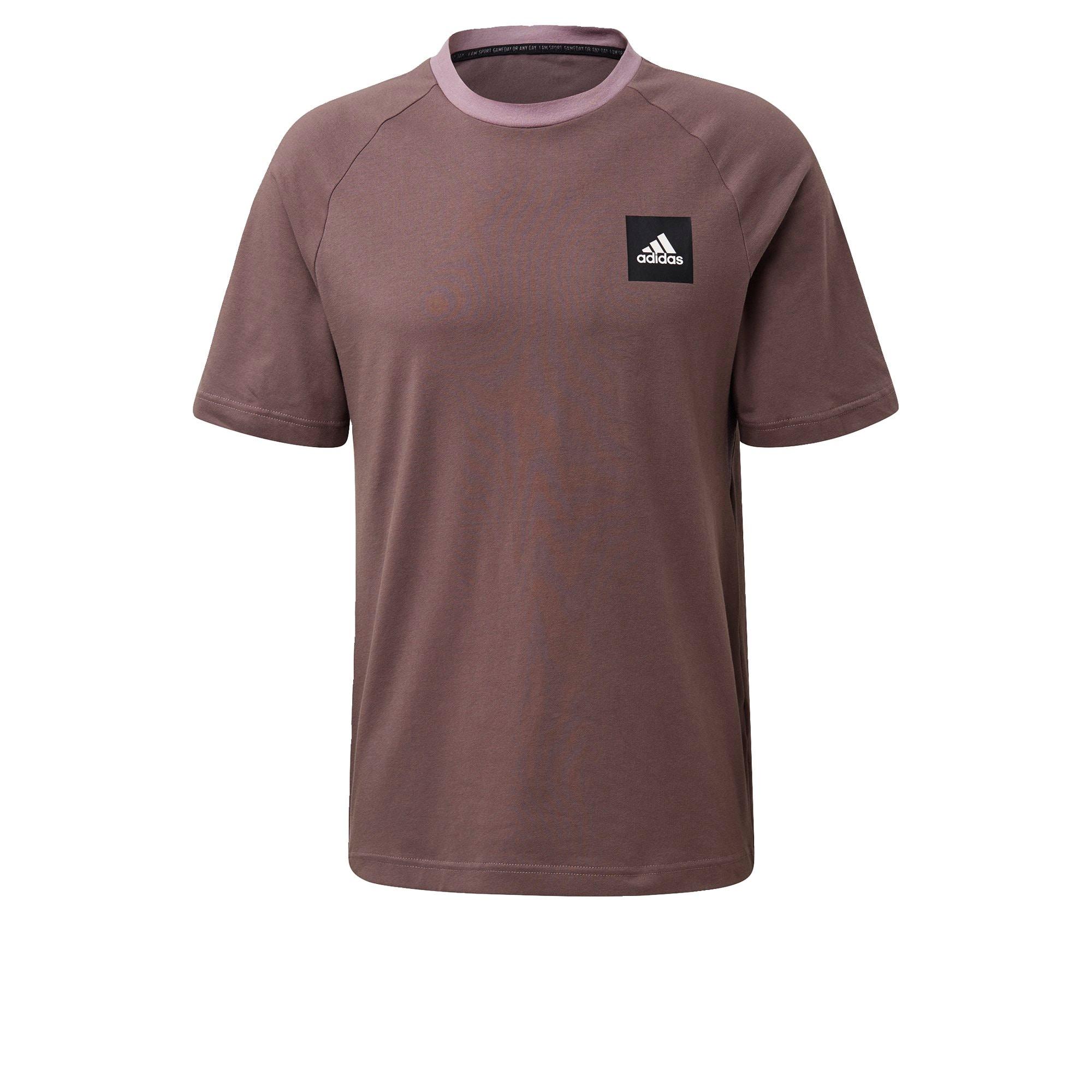 ADIDAS PERFORMANCE Sportiniai marškinėliai uogų spalva