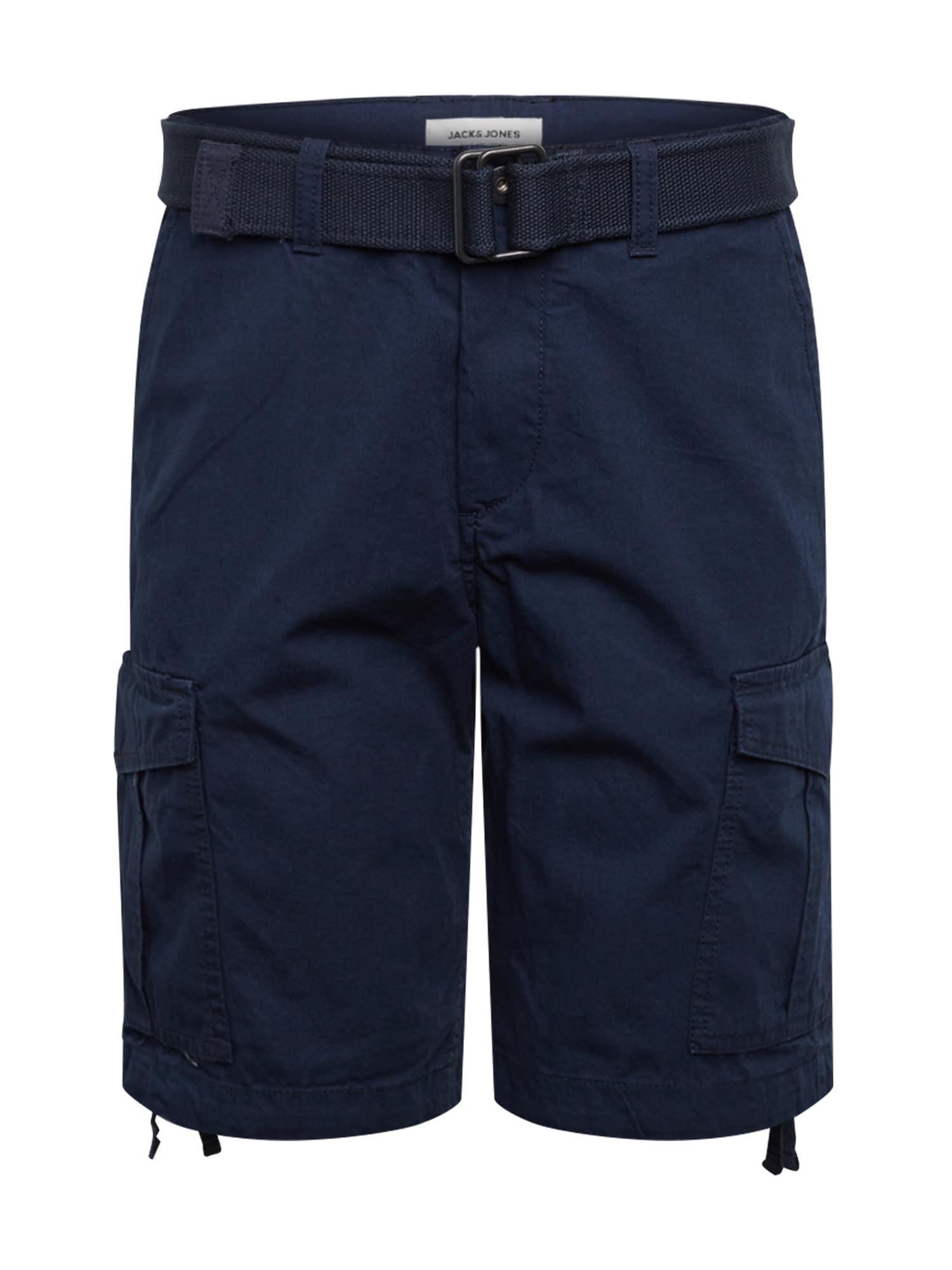 JACK & JONES Laisvo stiliaus kelnės 'CHARLIE' tamsiai mėlyna