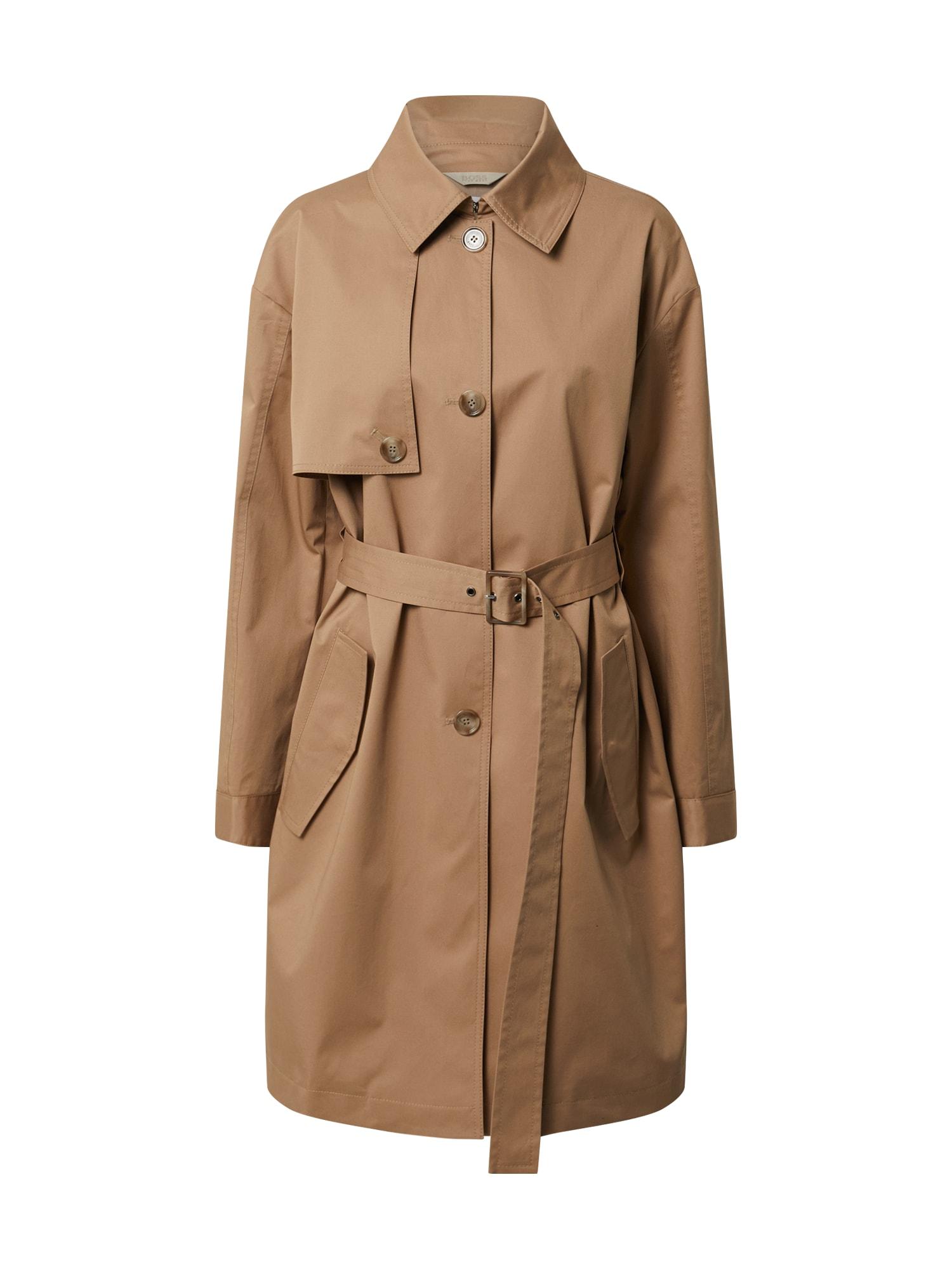 BOSS Rudeninis-žieminis paltas 'Olilac' smėlio