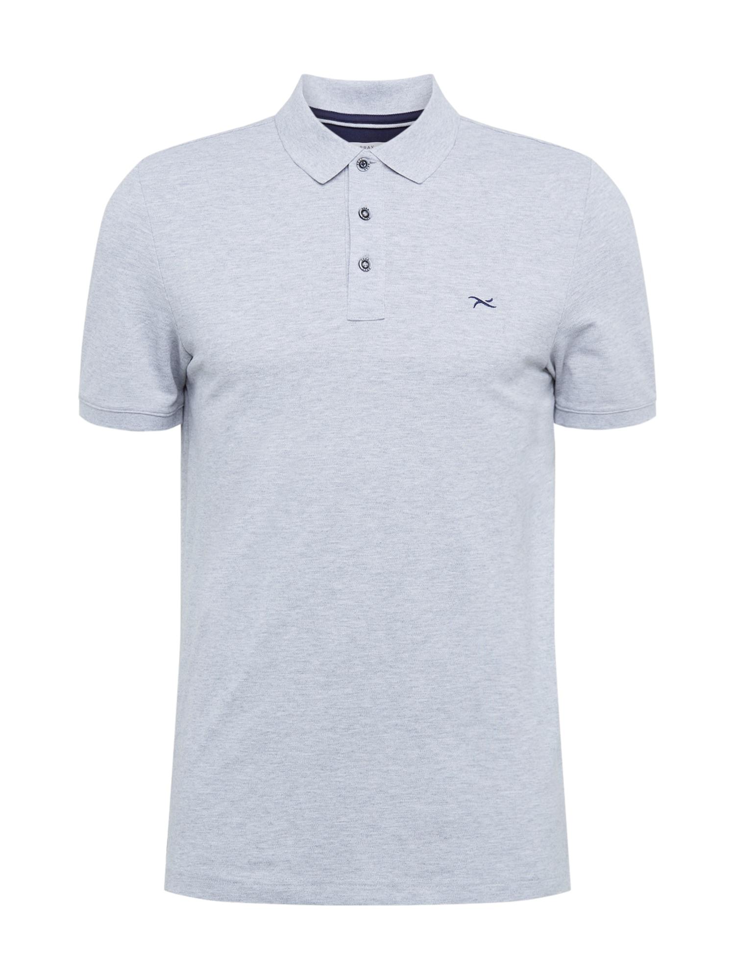 BRAX Marškinėliai 'Pete' pilka