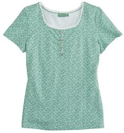Damen Trachtenshirt Damen in taillierter Form  | 04250703738830