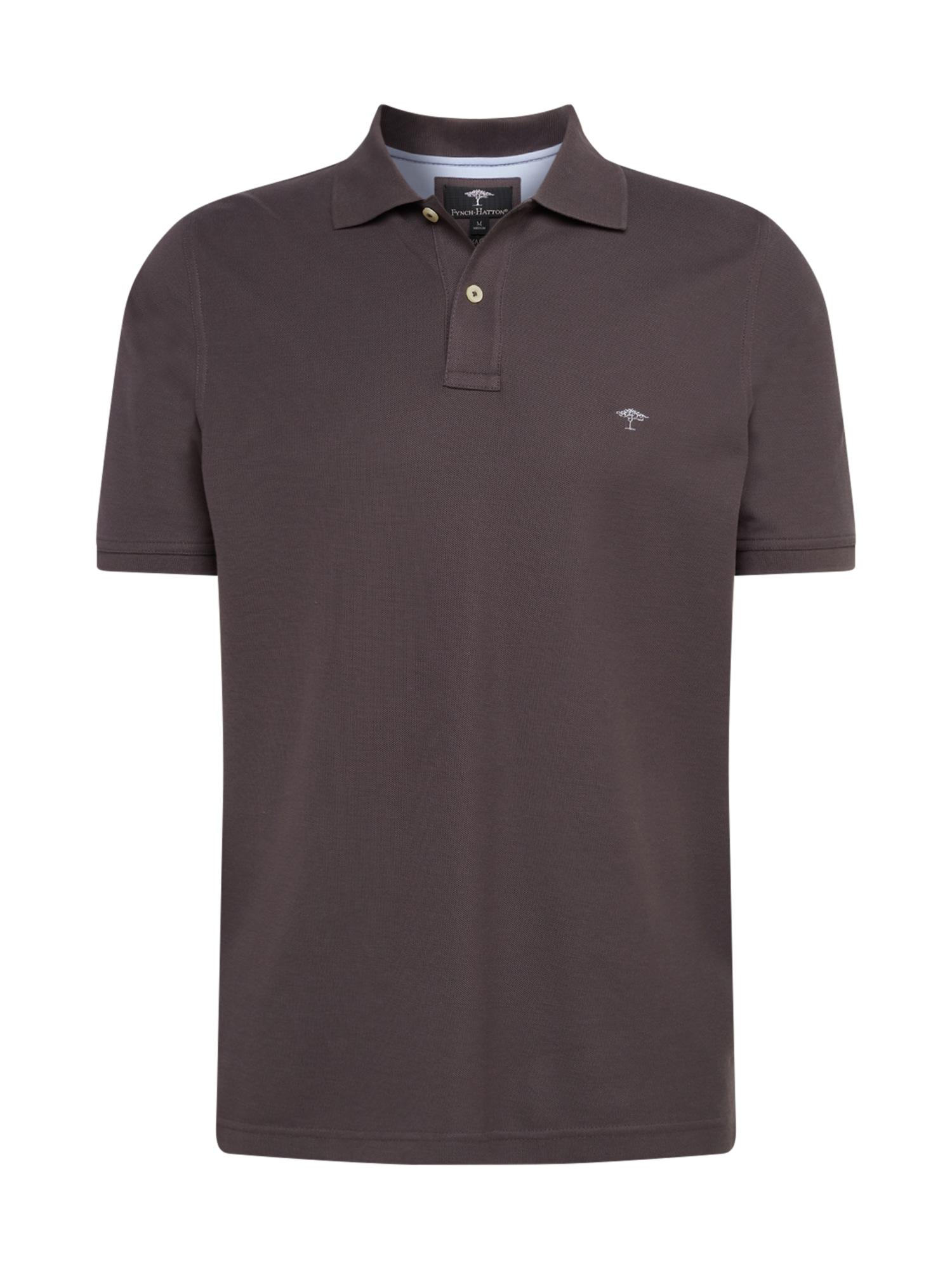 FYNCH-HATTON Marškinėliai 'SNOS 1700' tamsiai pilka