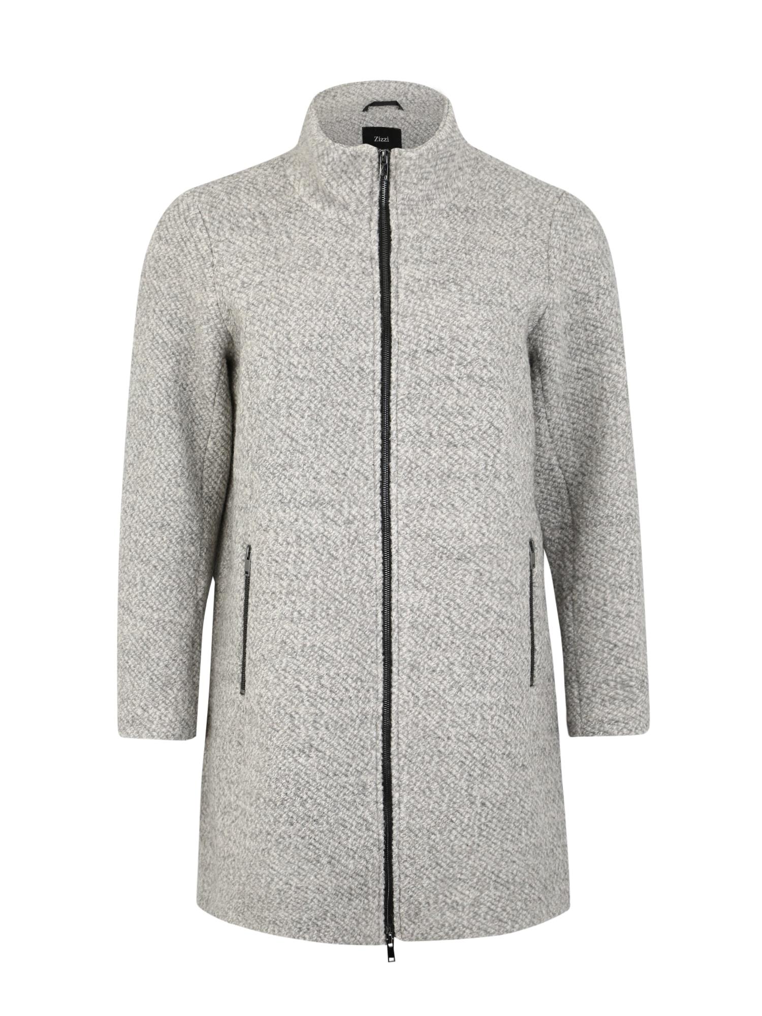 Zizzi Rudeninis-žieminis paltas 'CASARA' šviesiai pilka