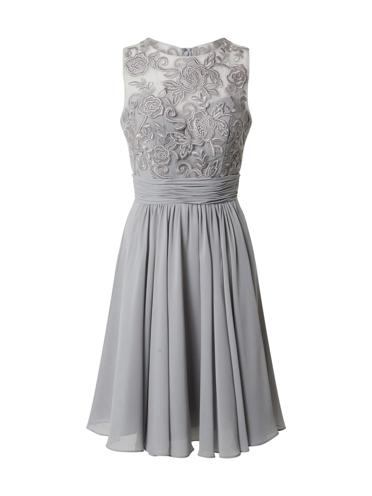 MAGIC NIGHTS Kokteilinė suknelė sidabro pilka