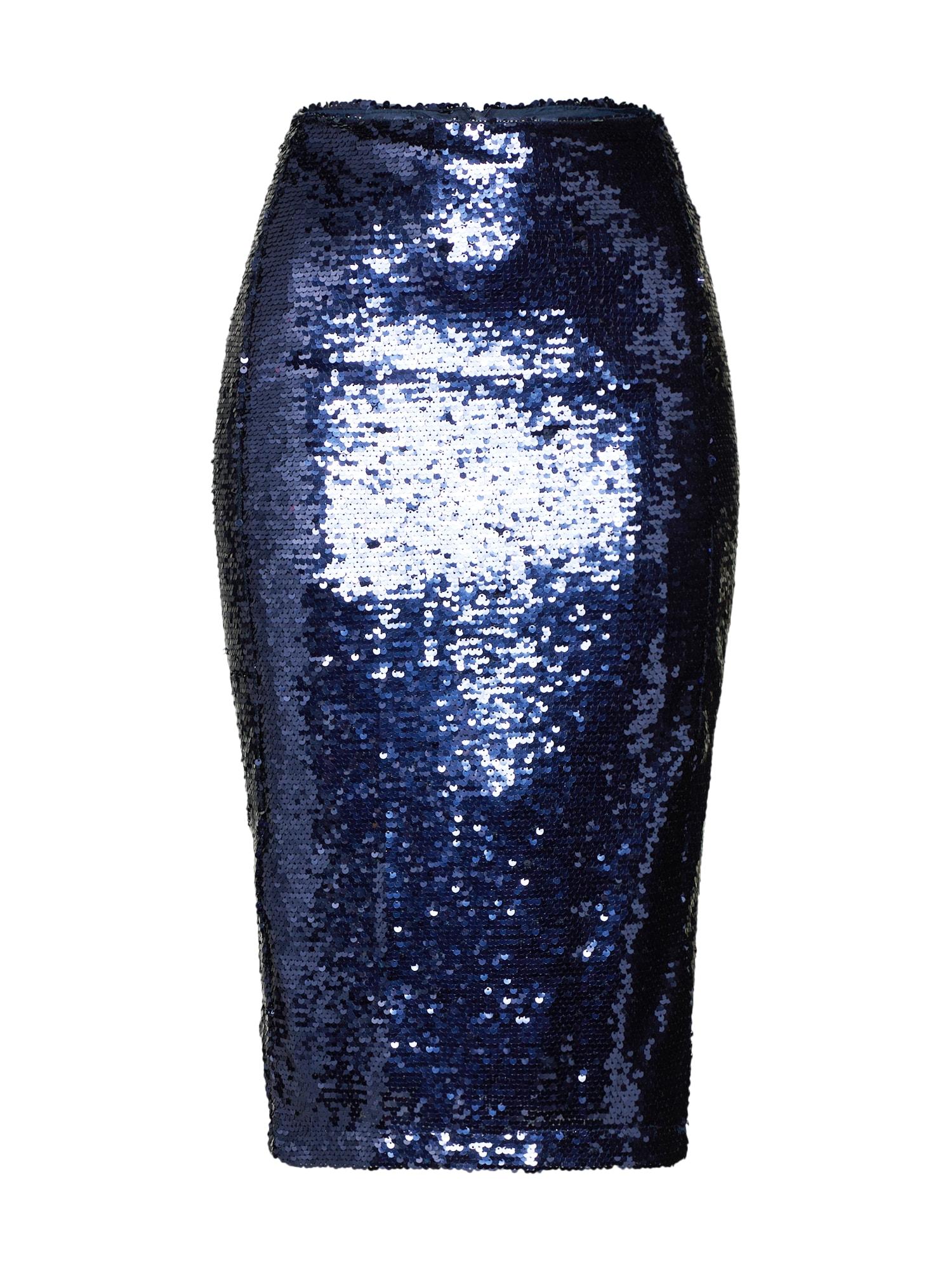 Fashion Union Sijonas tamsiai mėlyna