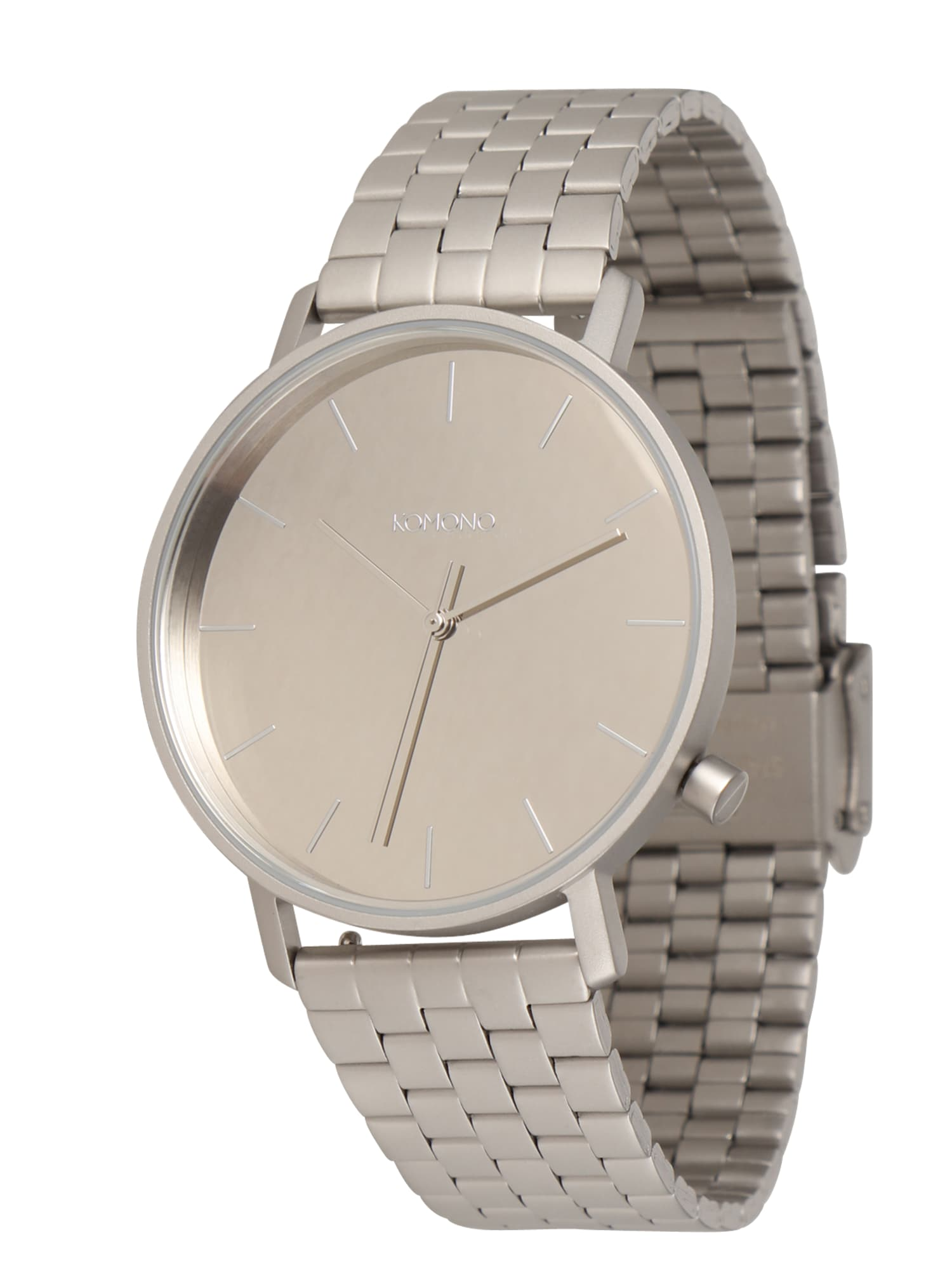 Analogové hodinky LEWIS ESTATE stříbrná Komono