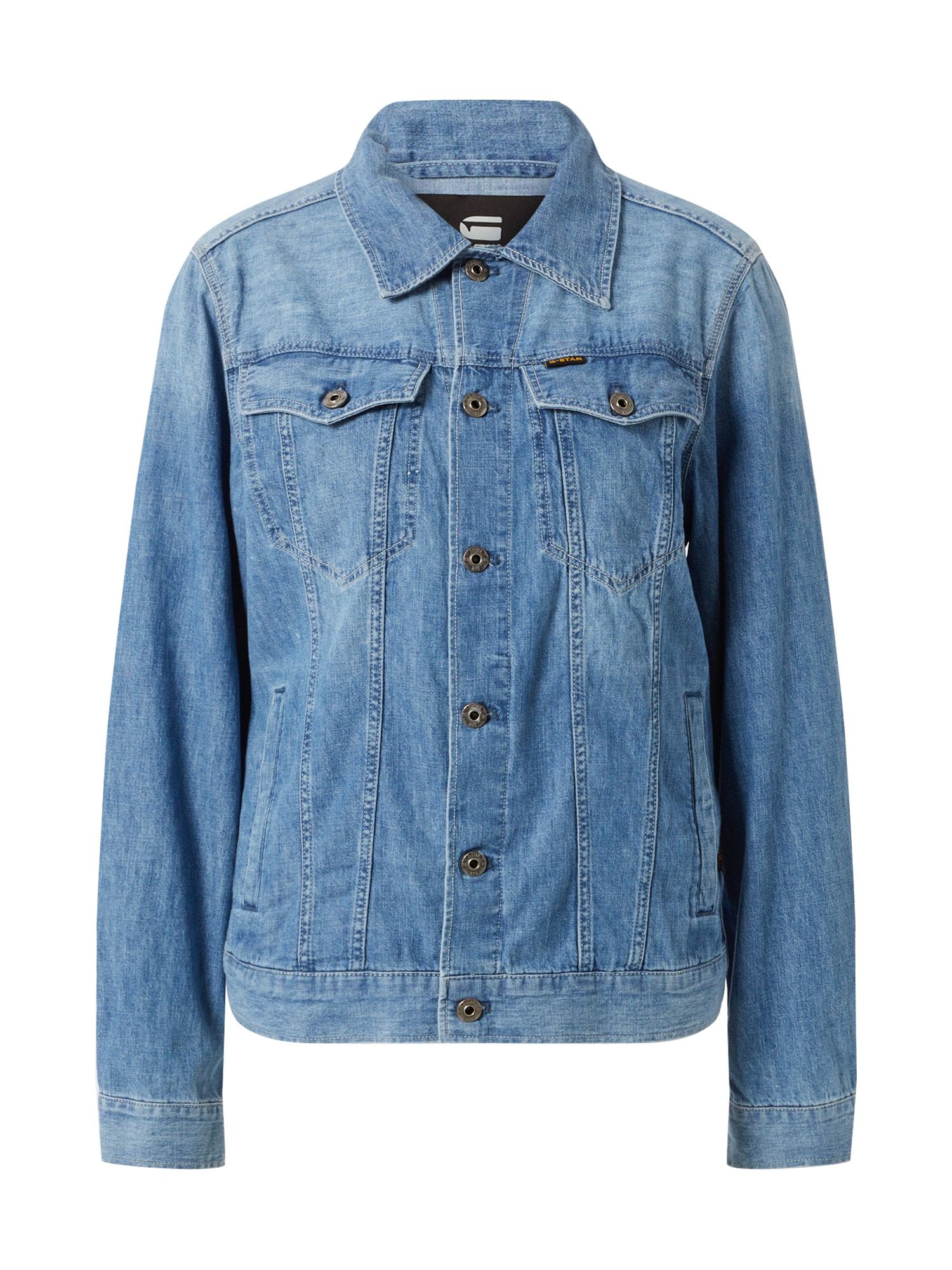 G-Star RAW Demisezoninė striukė '3301' tamsiai (džinso) mėlyna