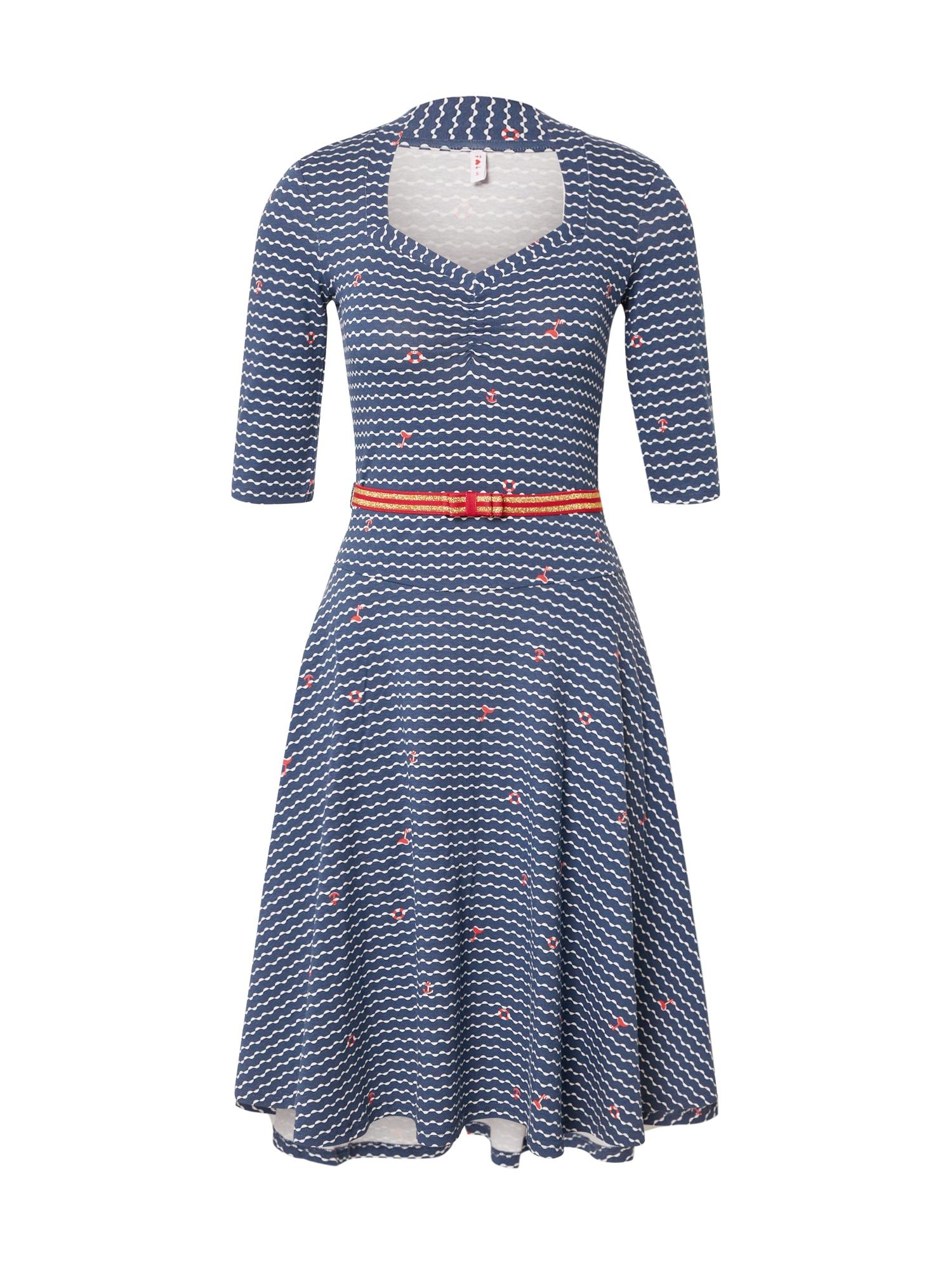 Blutsgeschwister Vakarinė suknelė 'suzie the snake dress' mėlyna