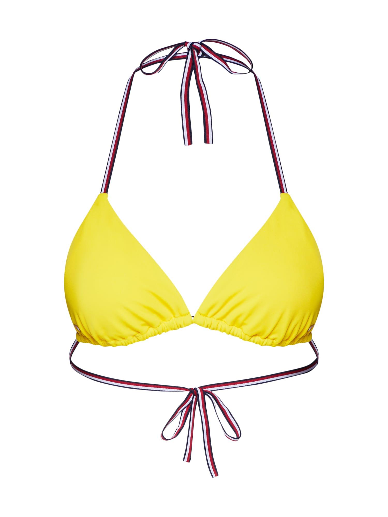 Horní díl plavek TRIANGLE žlutá Tommy Hilfiger Underwear