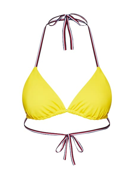 Bademode für Frauen - Tommy Hilfiger Underwear Bikinitop 'TRIANGLE' gelb  - Onlineshop ABOUT YOU