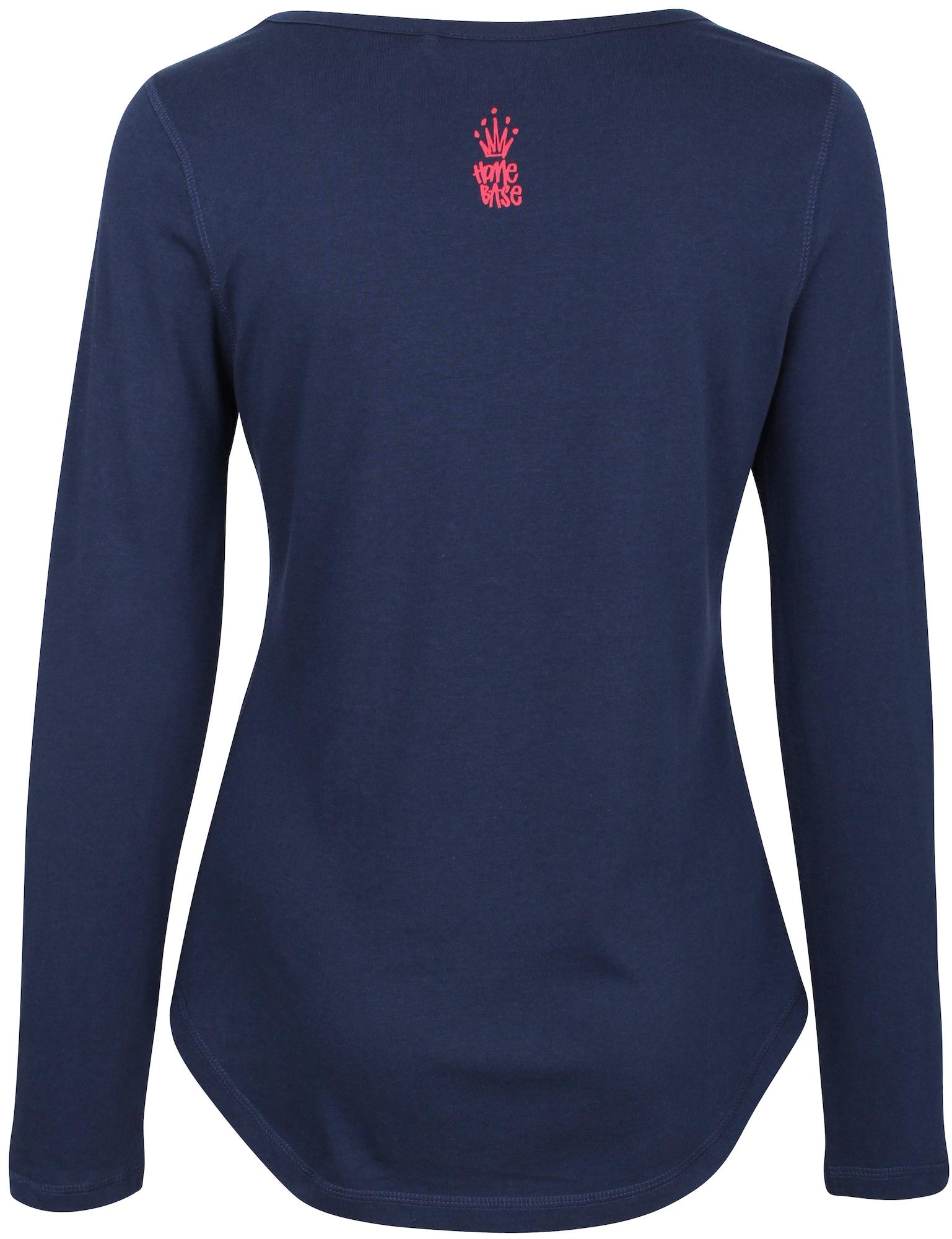 HOMEBASE, Damen Shirt Brandalised by Homebase, blauw / marine / donkerblauw