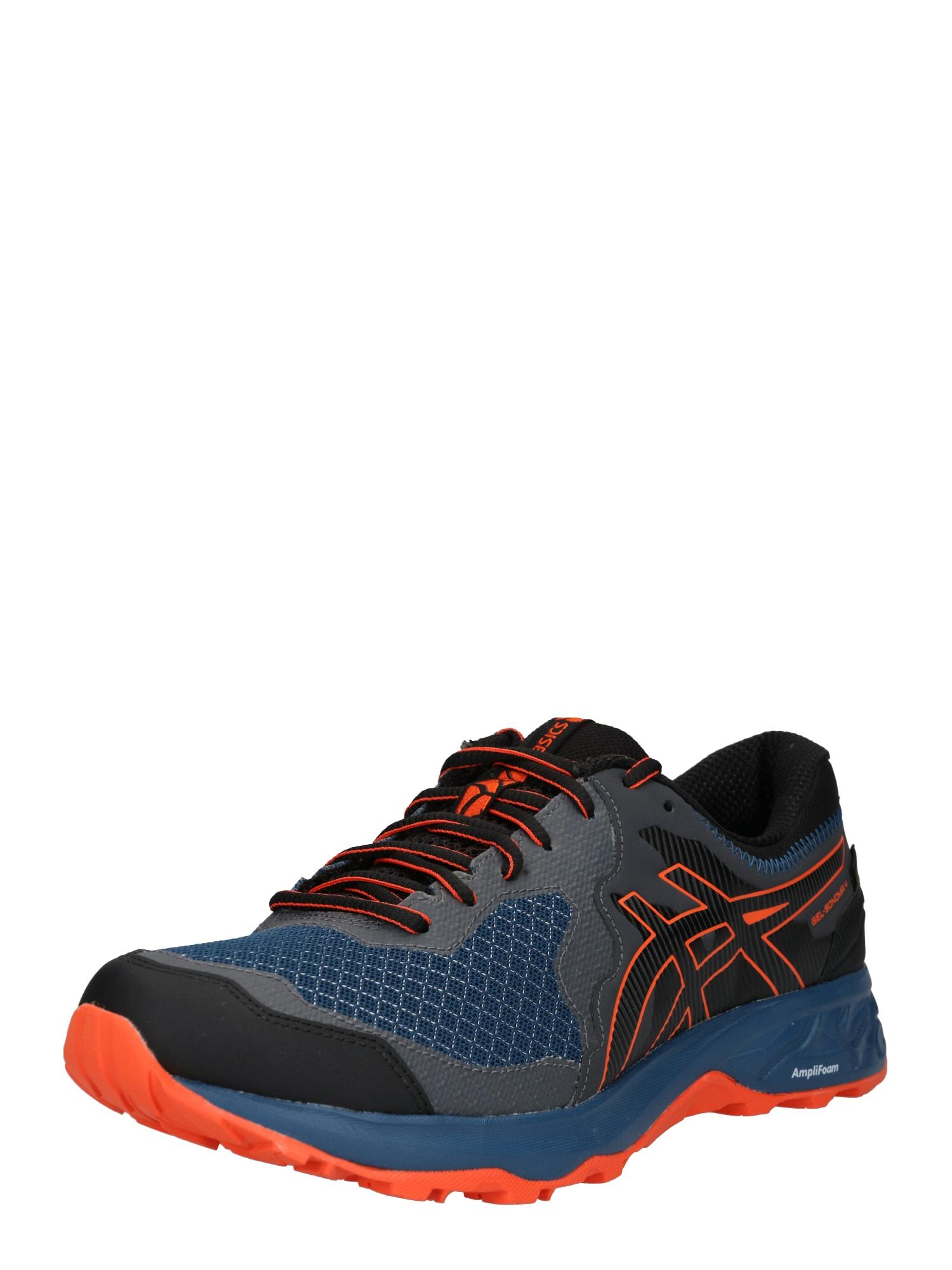 Běžecká obuv Gel-Sonoma 4 GTX tmavě modrá šedá tmavě oranžová černá ASICS