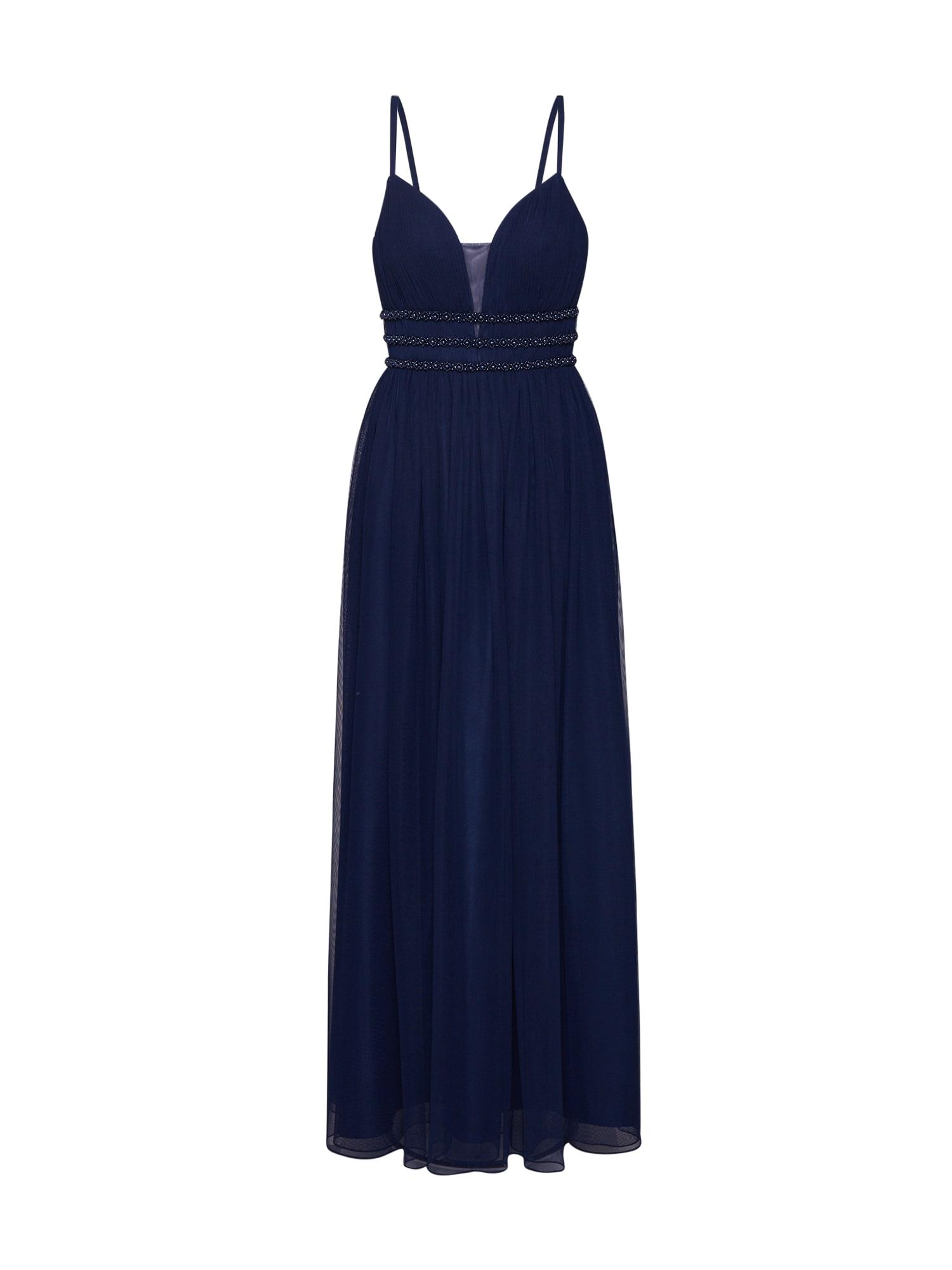 Laona Vakarinė suknelė šviesiai mėlyna / tamsiai mėlyna / tamsiai mėlyna