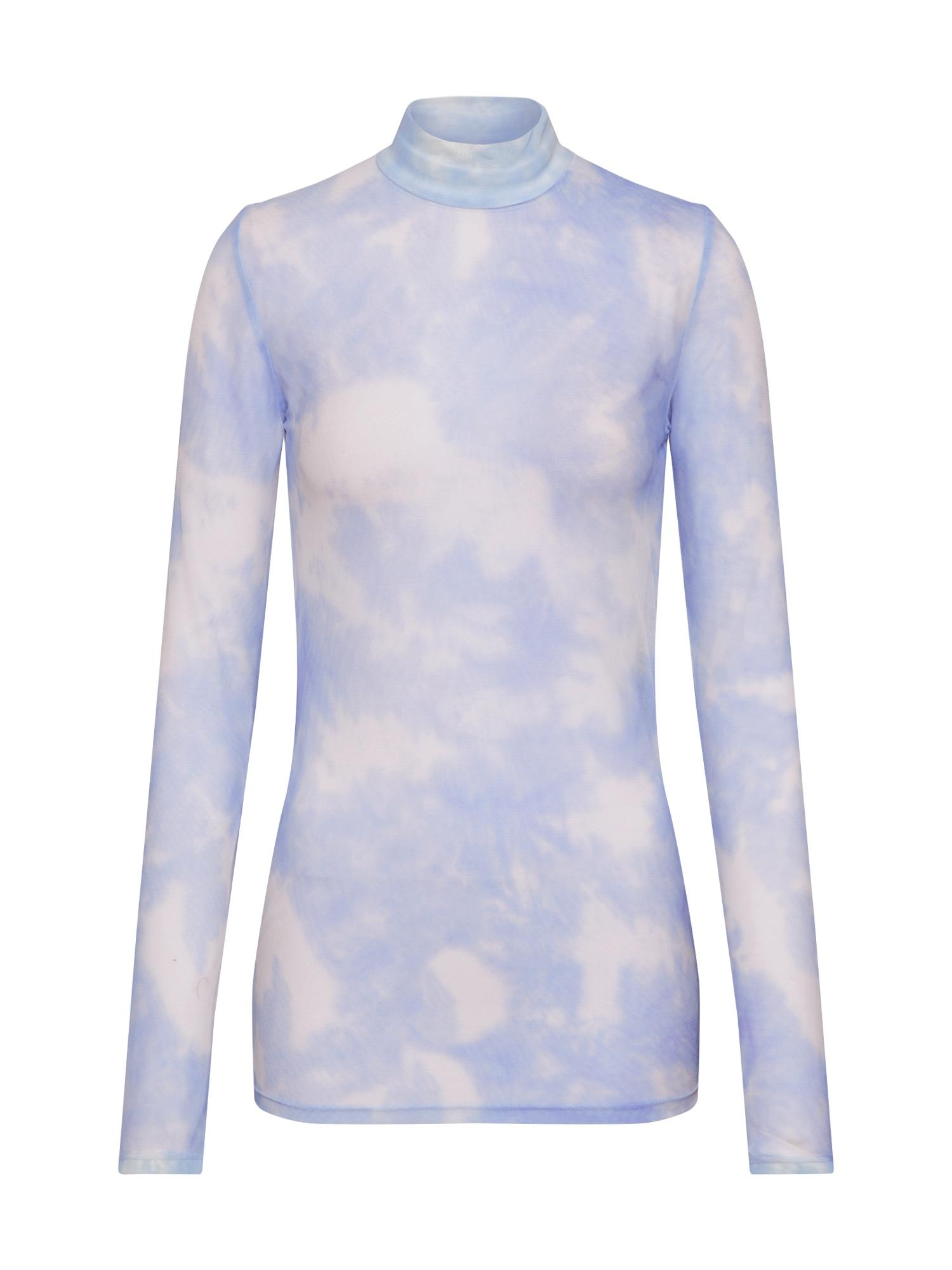 modström Tričko 'Bay'  biela / modré