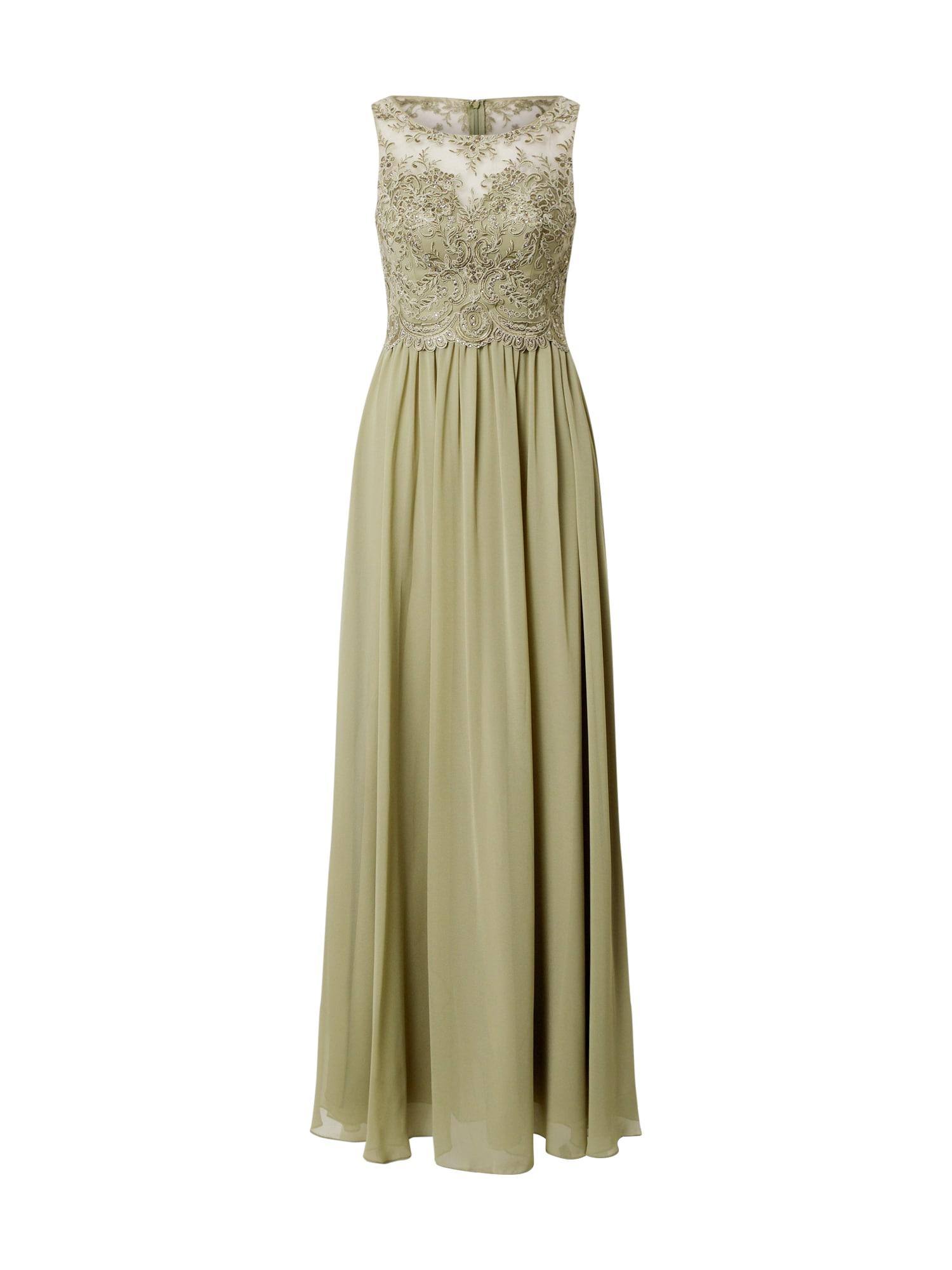 Laona Vakarinė suknelė alyvuogių spalva