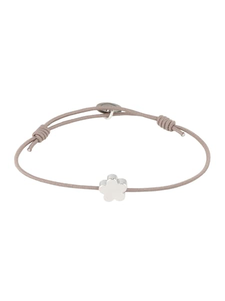 Armbaender für Frauen - Lua Accessories Damen Schmuck 'My Flower Armband' grau  - Onlineshop ABOUT YOU