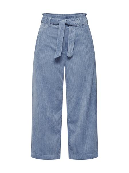 Hosen für Frauen - EDC BY ESPRIT Hose 'Paprbg Culotte' rauchblau  - Onlineshop ABOUT YOU