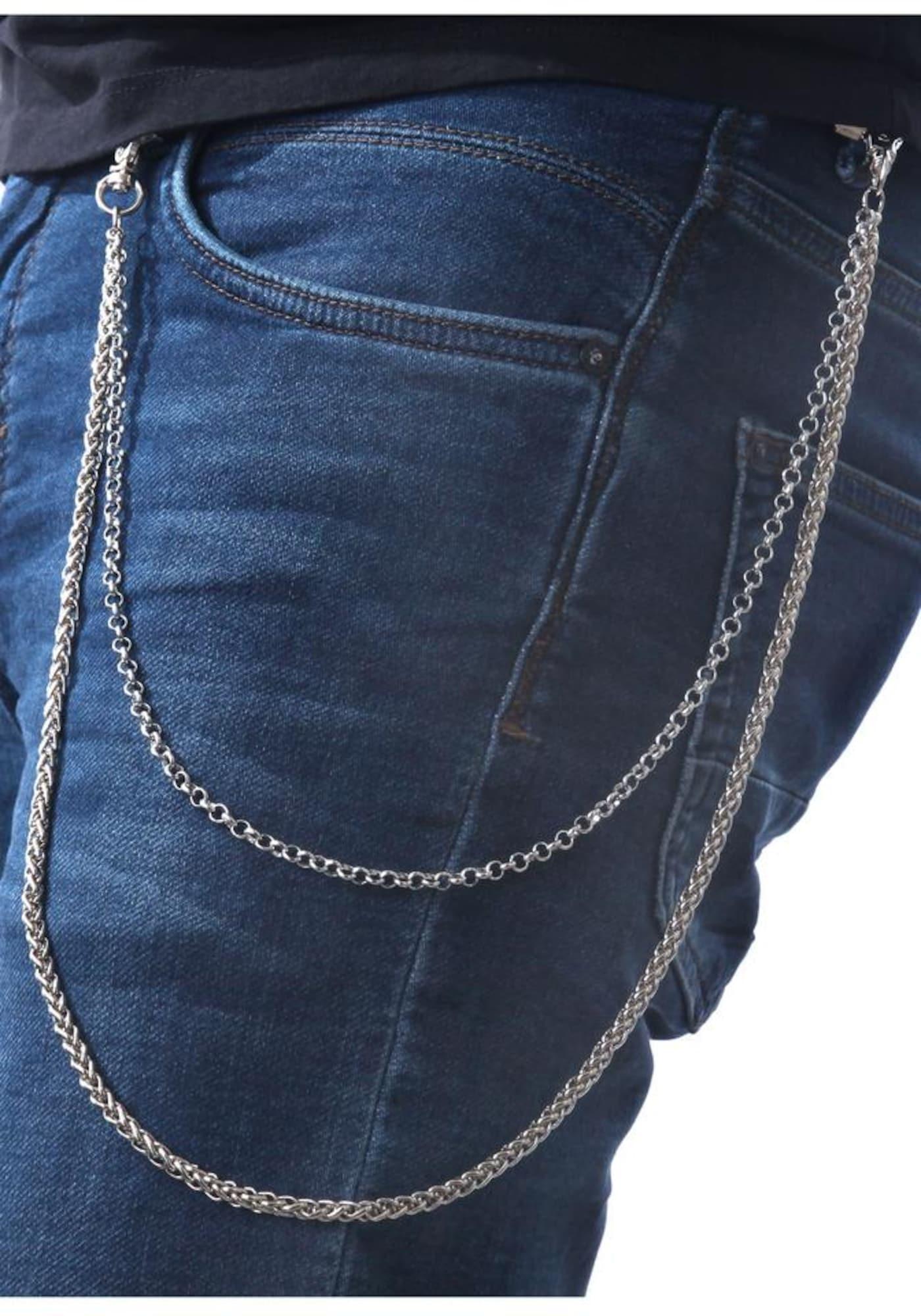 J.Jayz Hosenkette, »mehrreihige Gliederkettengliederung« | Schmuck > Halsketten > Gliederketten | J. Jayz