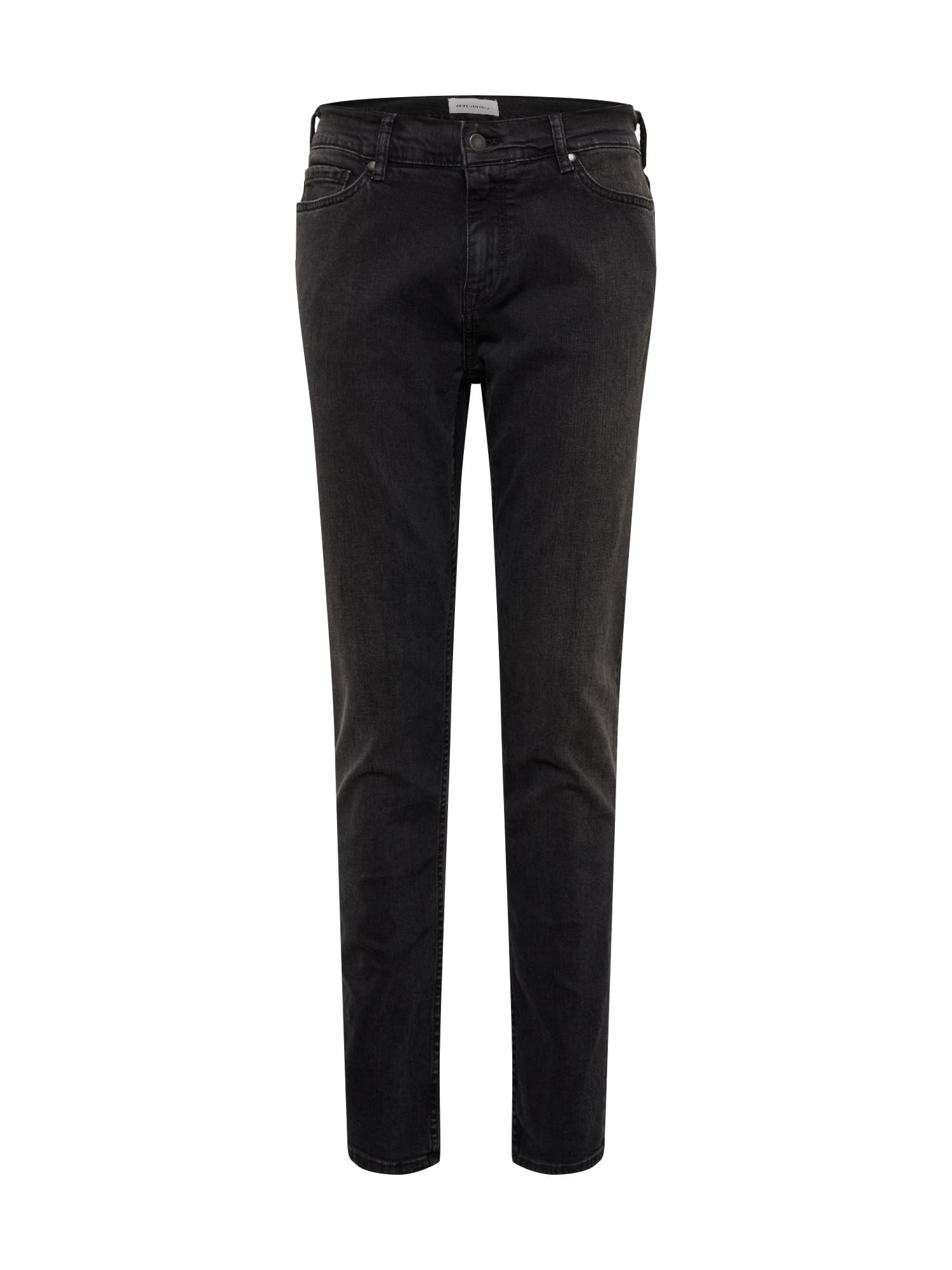 ARMEDANGELS Džinsai 'IAAN' juodo džinso spalva