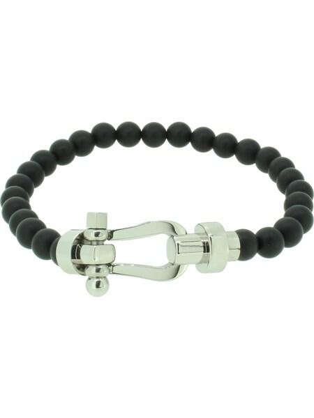 Armbaender für Frauen - Hafen Klunker Armband '110538' schwarz silber  - Onlineshop ABOUT YOU