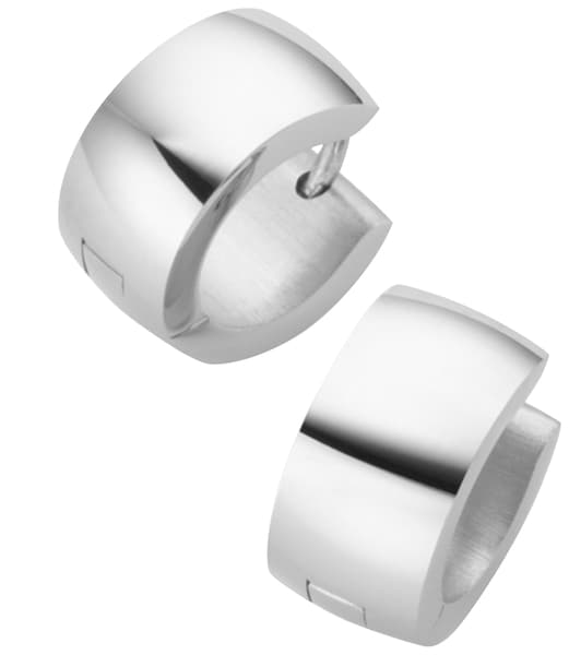 Ohrringe für Frauen - FIRETTI Paar Klappcreolen silber  - Onlineshop ABOUT YOU
