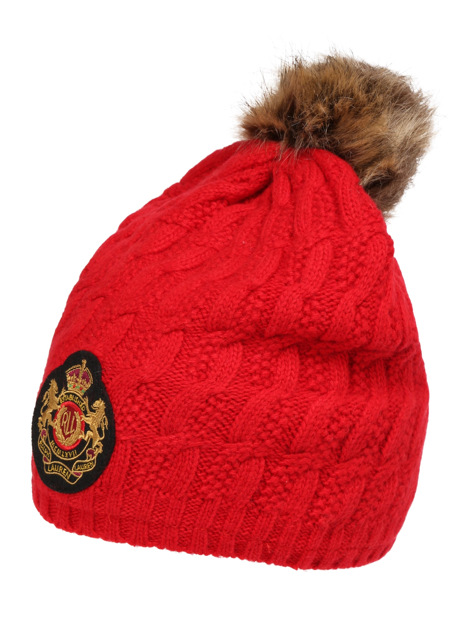Lauren Ralph Lauren Căciulă 'CBL PTCH HAT-HAT'  roșu