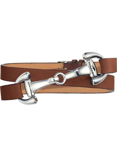 Armbaender für Frauen - Dimacci Armband cognac silber  - Onlineshop ABOUT YOU