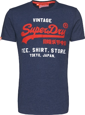 Superdry Shirt 'SHOP DUO TEE'