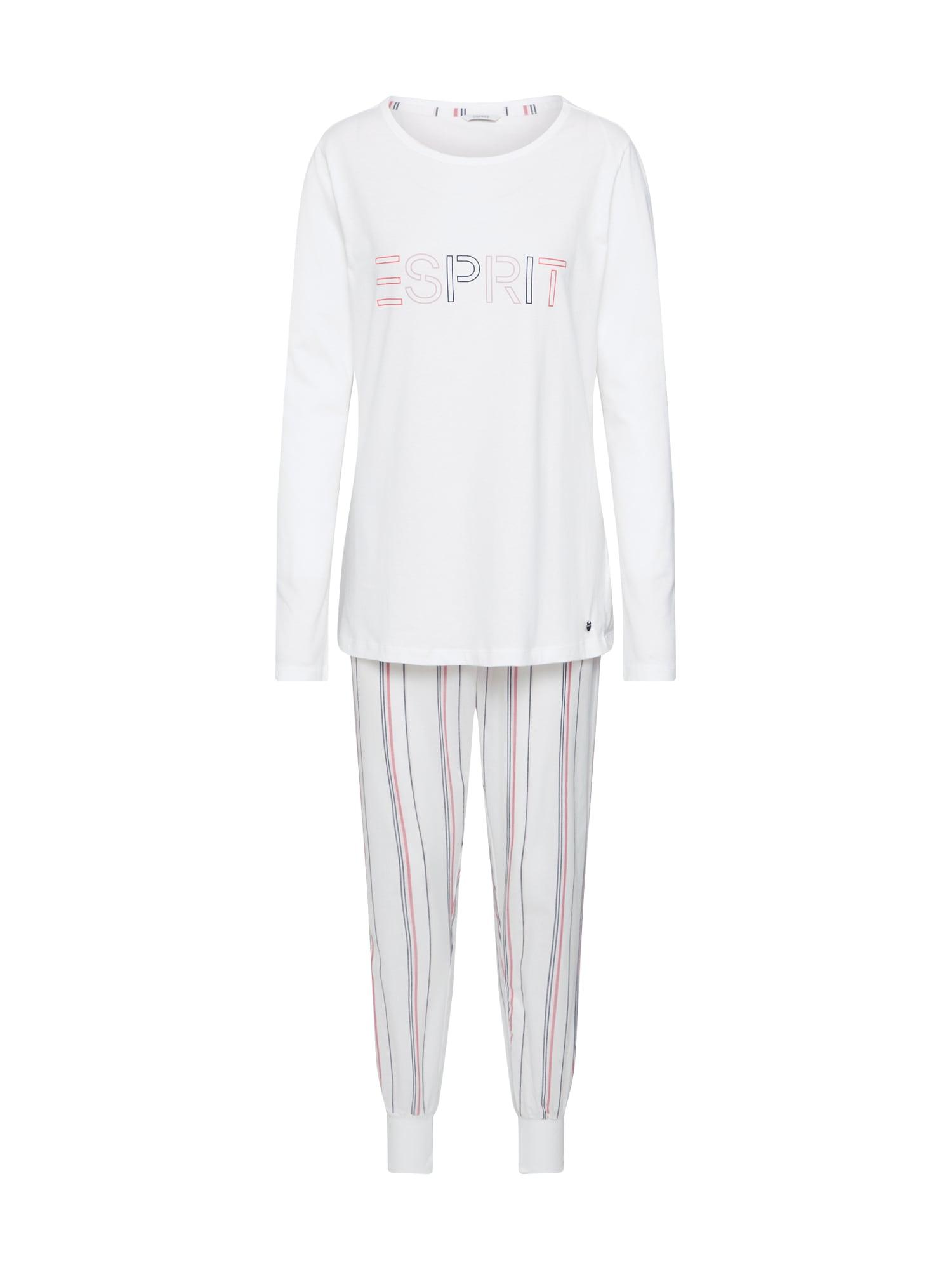 ESPRIT Pižama 'ADAH' balta