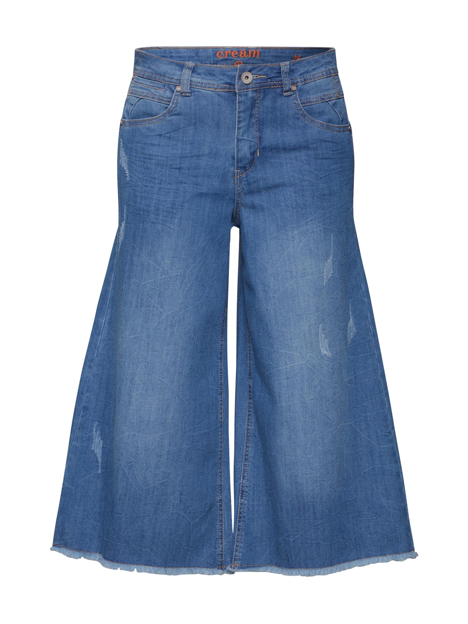 Cream Džinsai 'Samina' tamsiai (džinso) mėlyna / šviesiai mėlyna