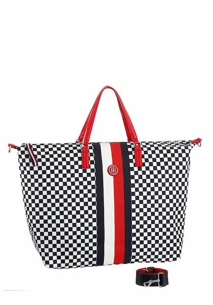 Shopper für Frauen - TOMMY HILFIGER Shopper rot schwarz weiß  - Onlineshop ABOUT YOU