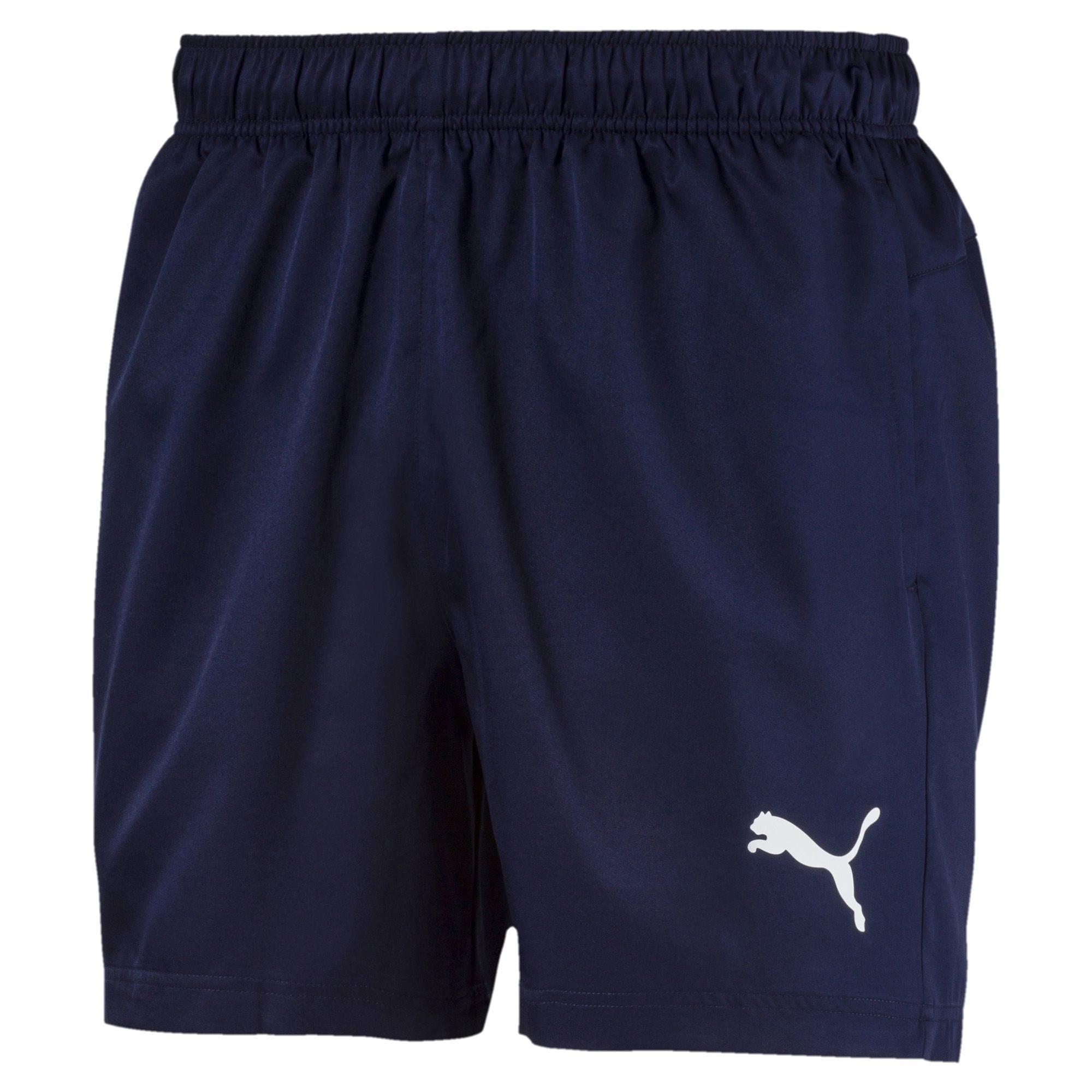 PUMA Športové nohavice 'Active'  námornícka modrá