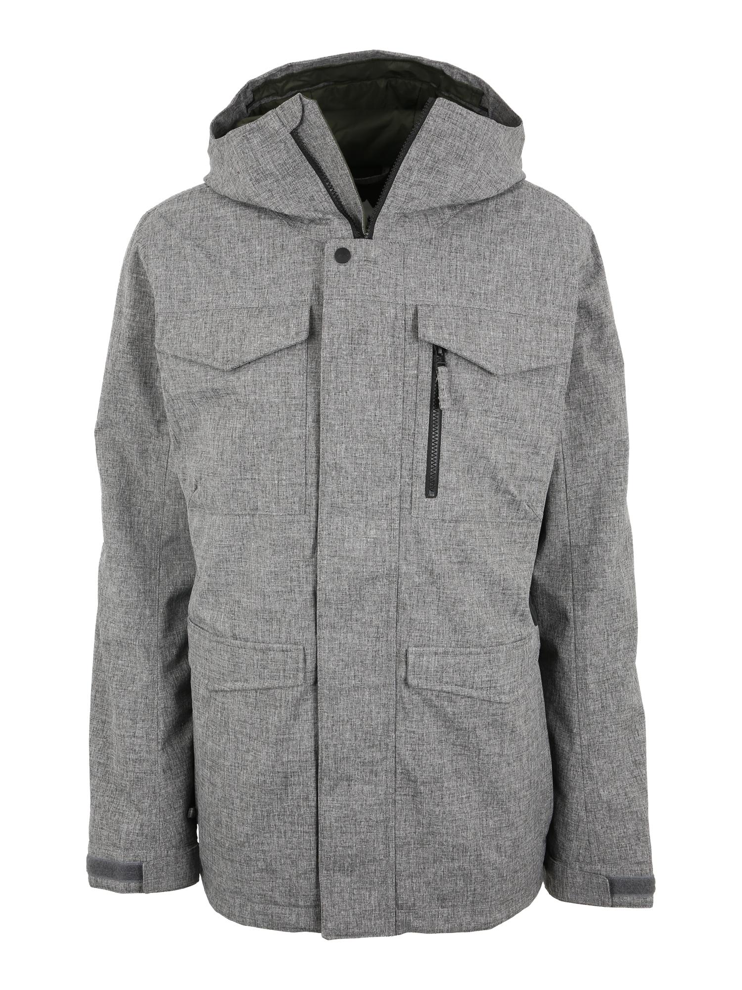 Outdoorová bunda Covert šedá BURTON