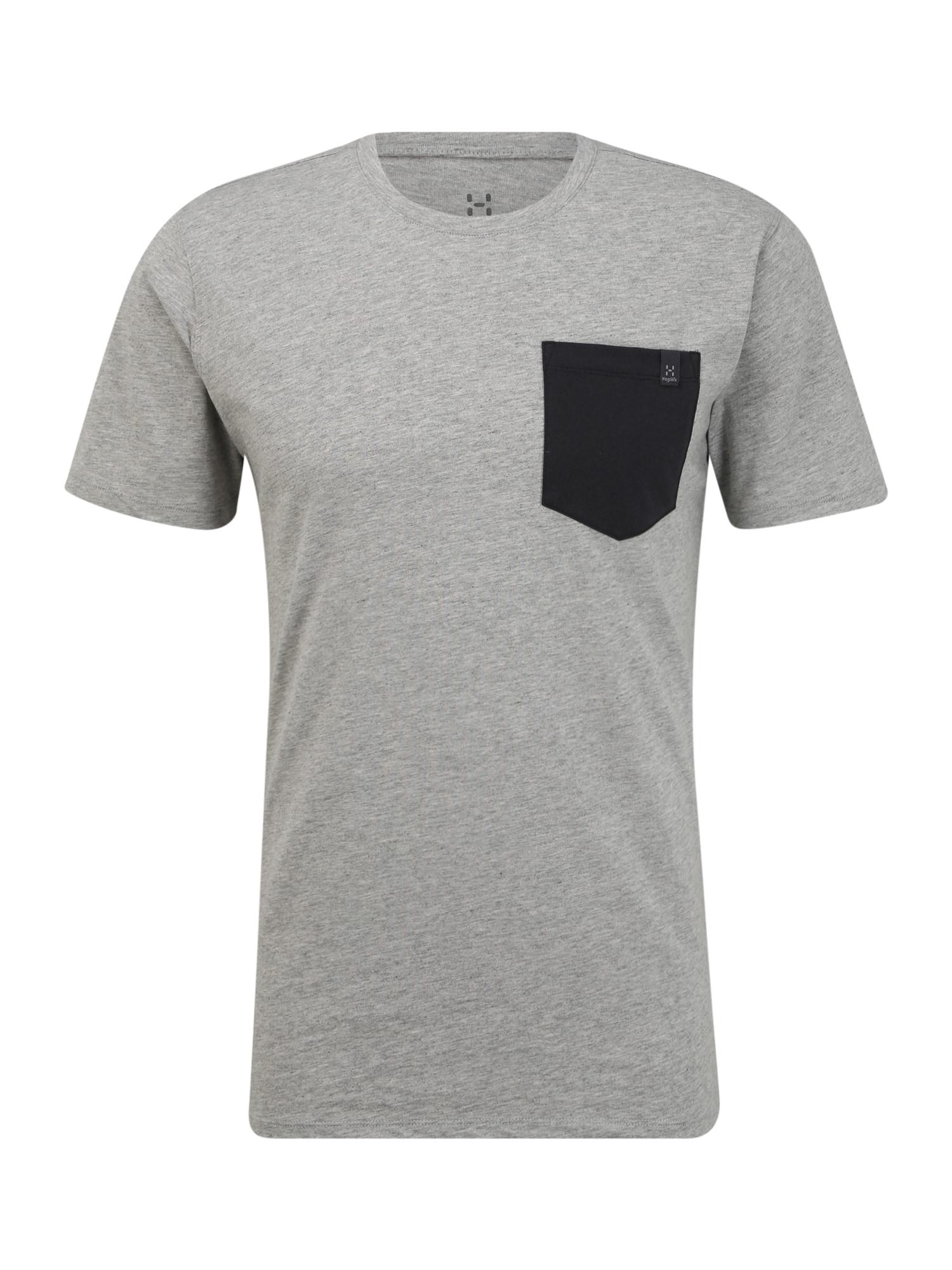 Haglöfs Sportiniai marškinėliai 'Mirth' šviesiai pilka