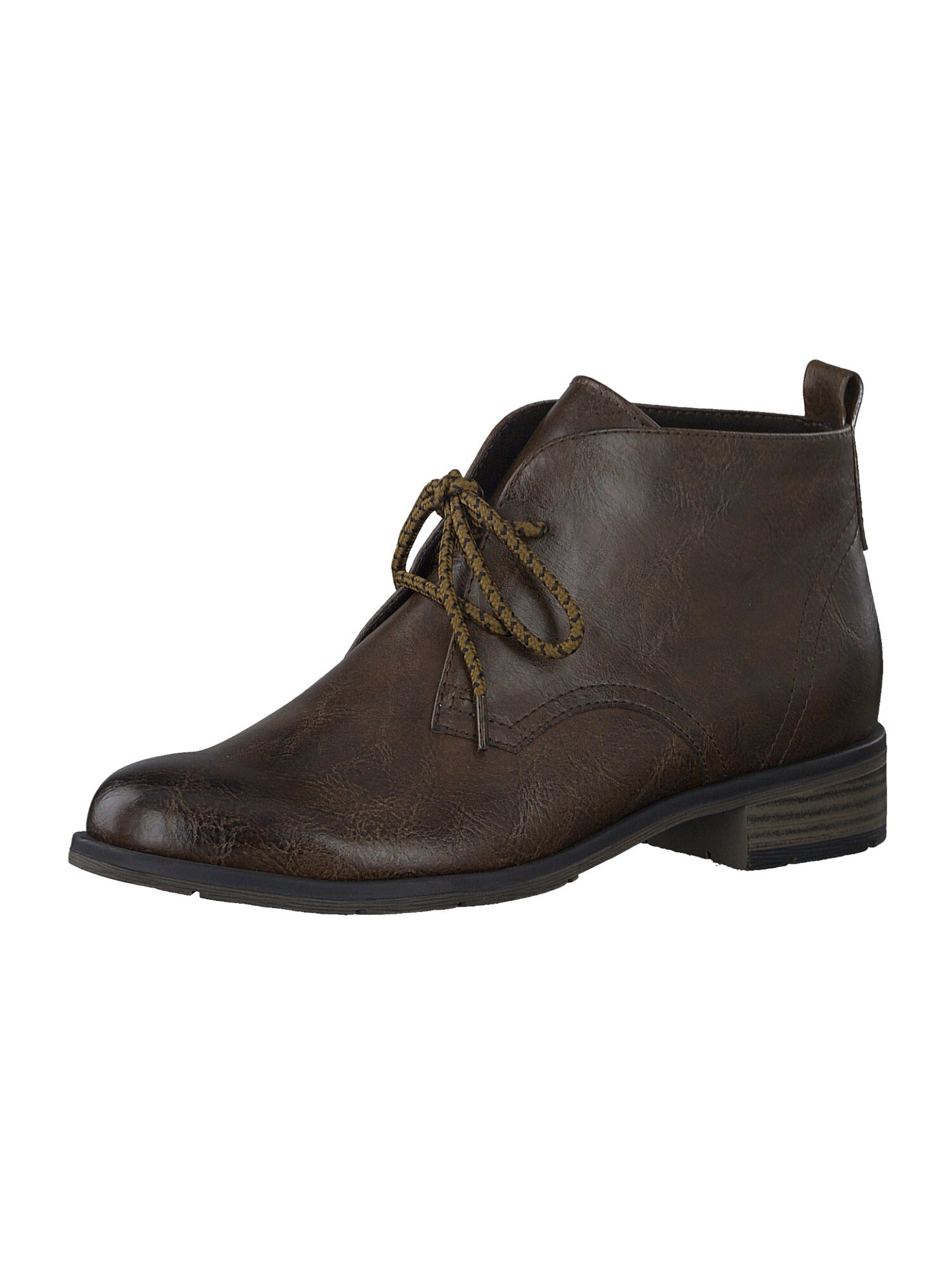 MARCO TOZZI Kulkšnis dengiantys batai tamsiai ruda