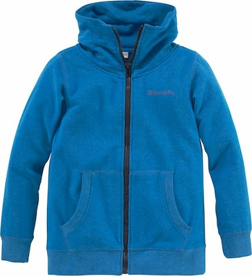 BENCH Sweatjacke Melange-Optik