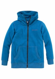 BENCH Kinder,Jungen Sweatjacke Melange-Optik blau | 08941101605911